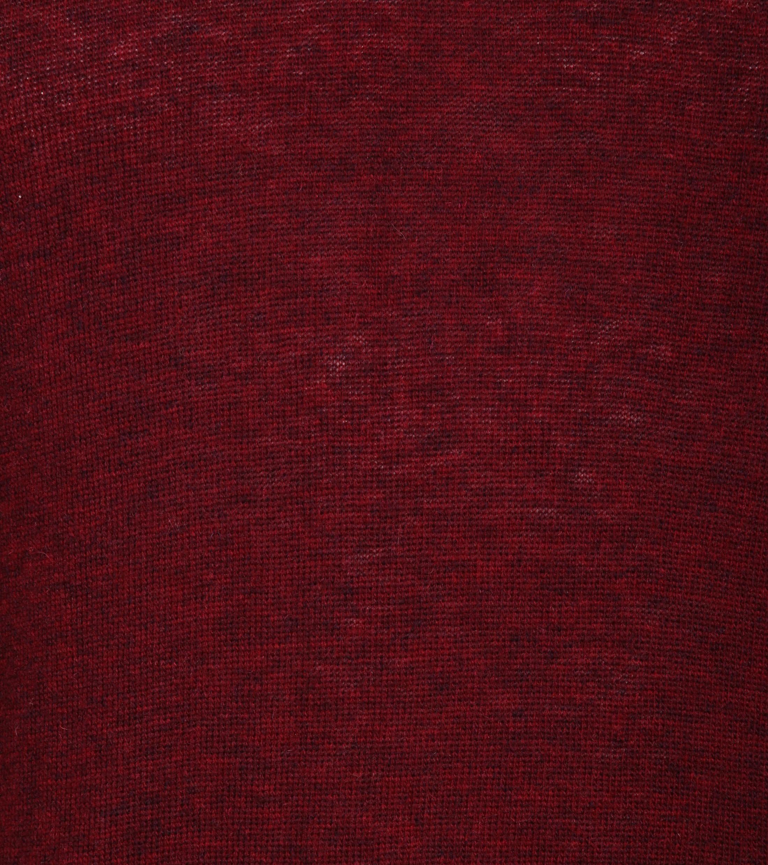 Suitable Pullover V-Hals Lamswol Bordeaux foto 3