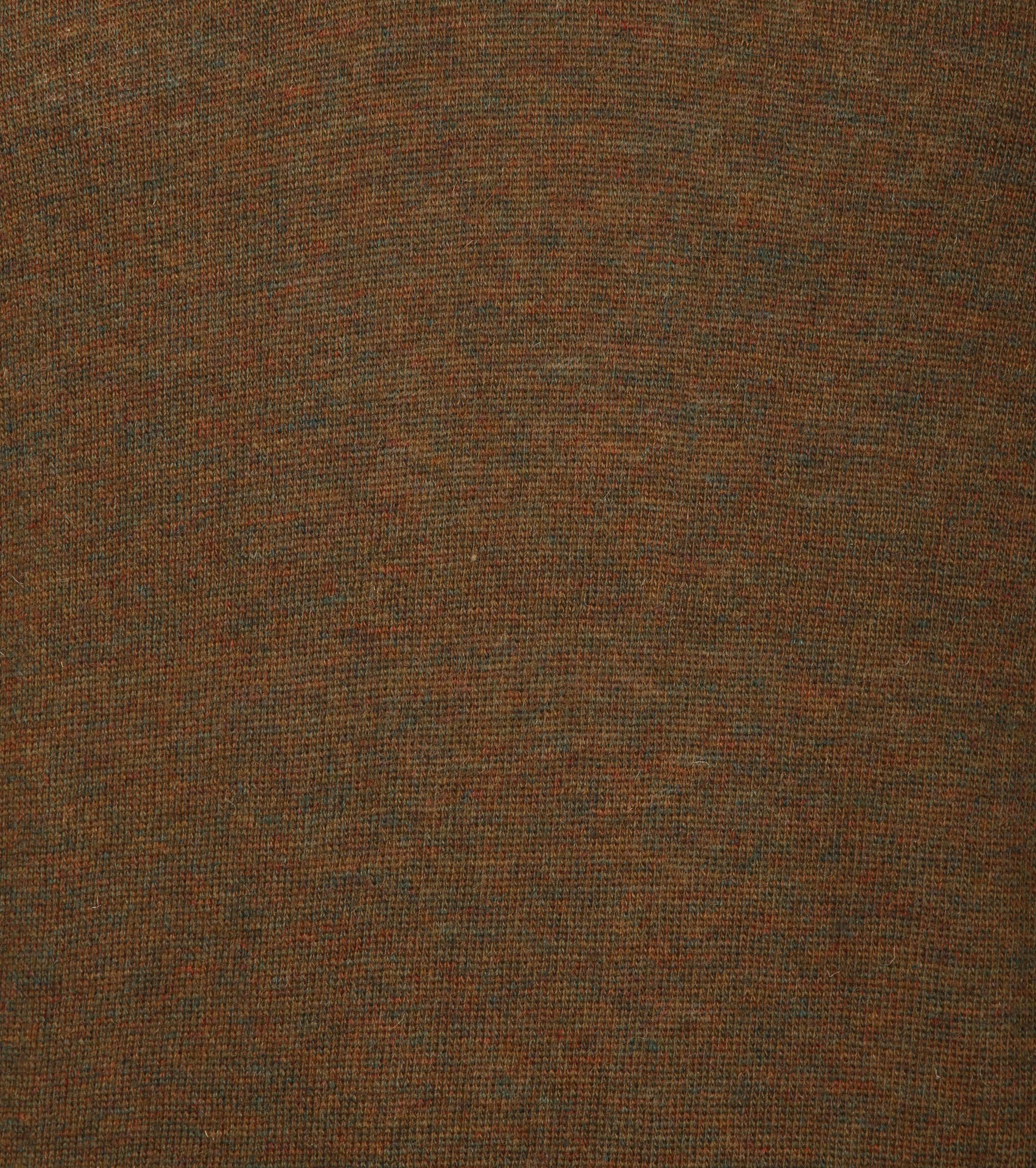 Suitable Pullover V-Neck Lambswool Brown foto 3