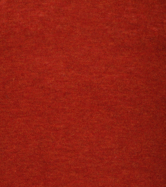 Suitable Pullover V-Neck Lambswool Orange foto 3