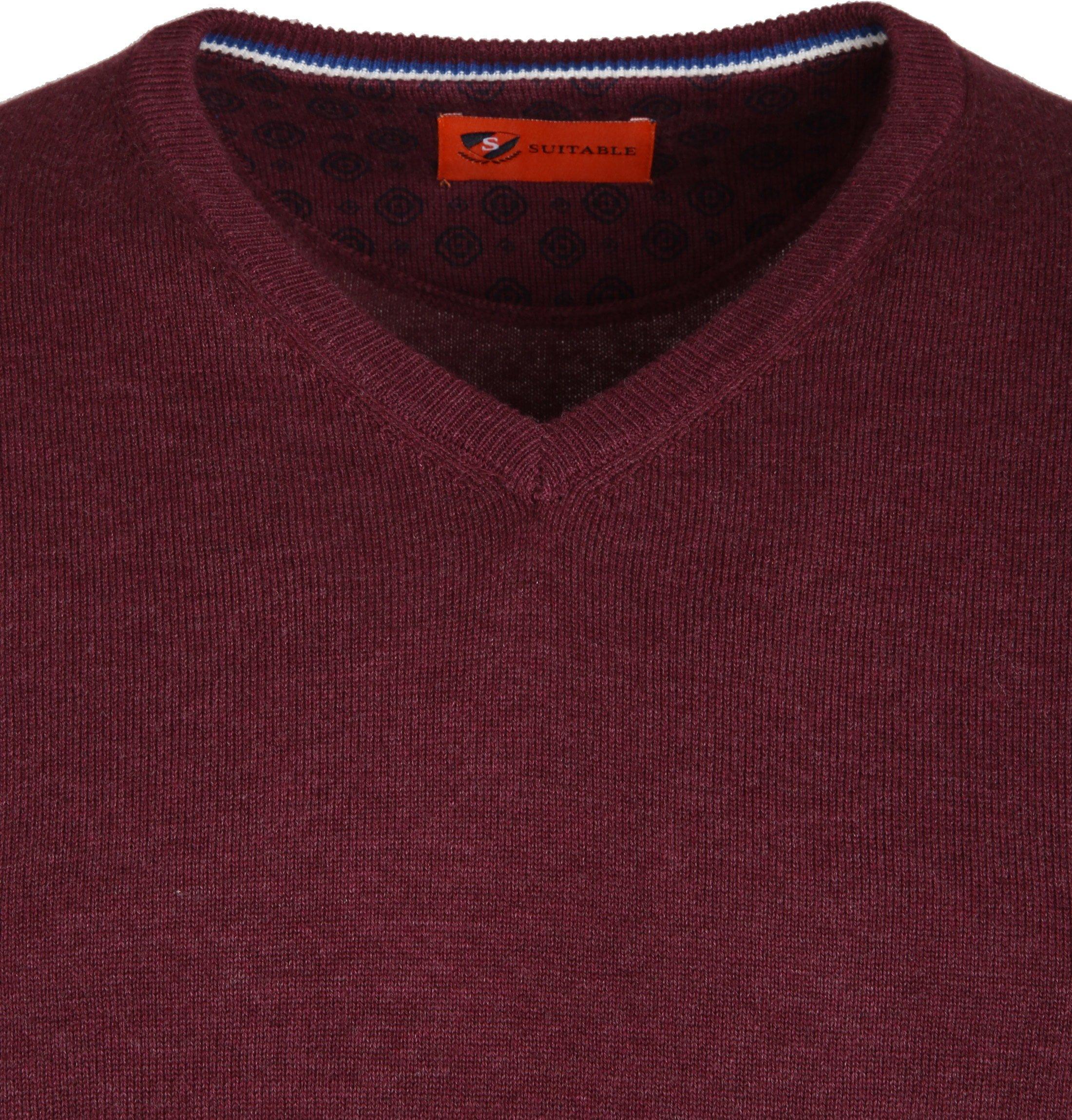 Suitable Pullover Vince Bordeaux foto 1