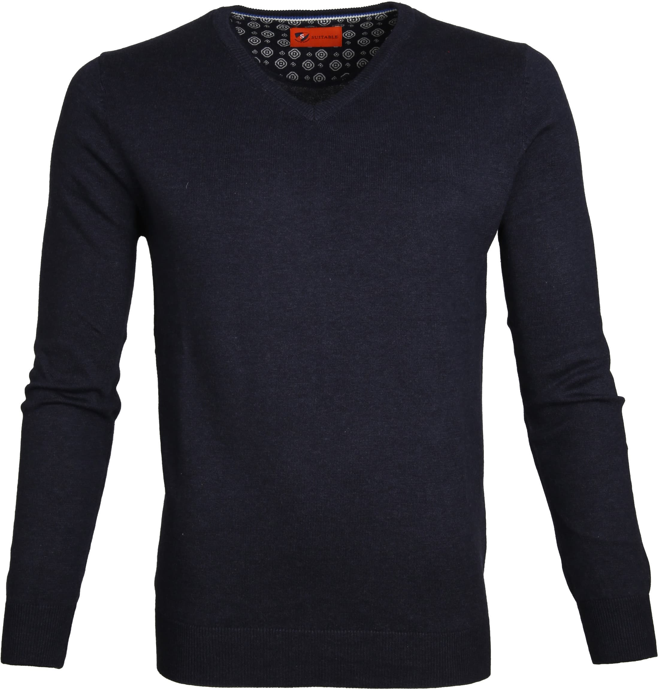 Suitable Pullover Vince Navy foto 0