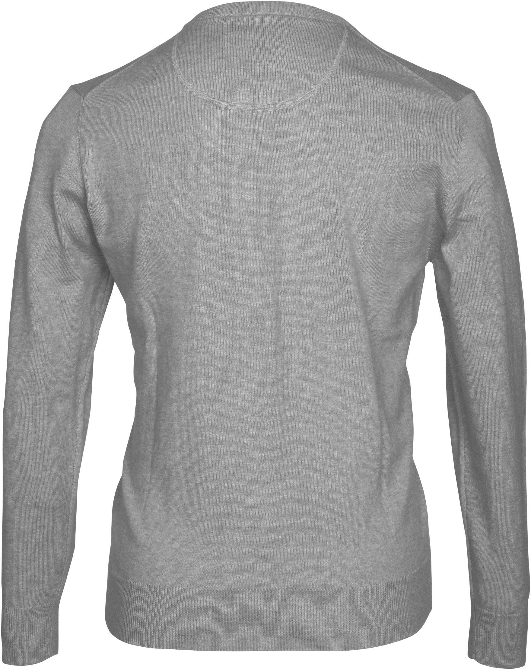 Suitable Pullover Vini Grijs foto 2