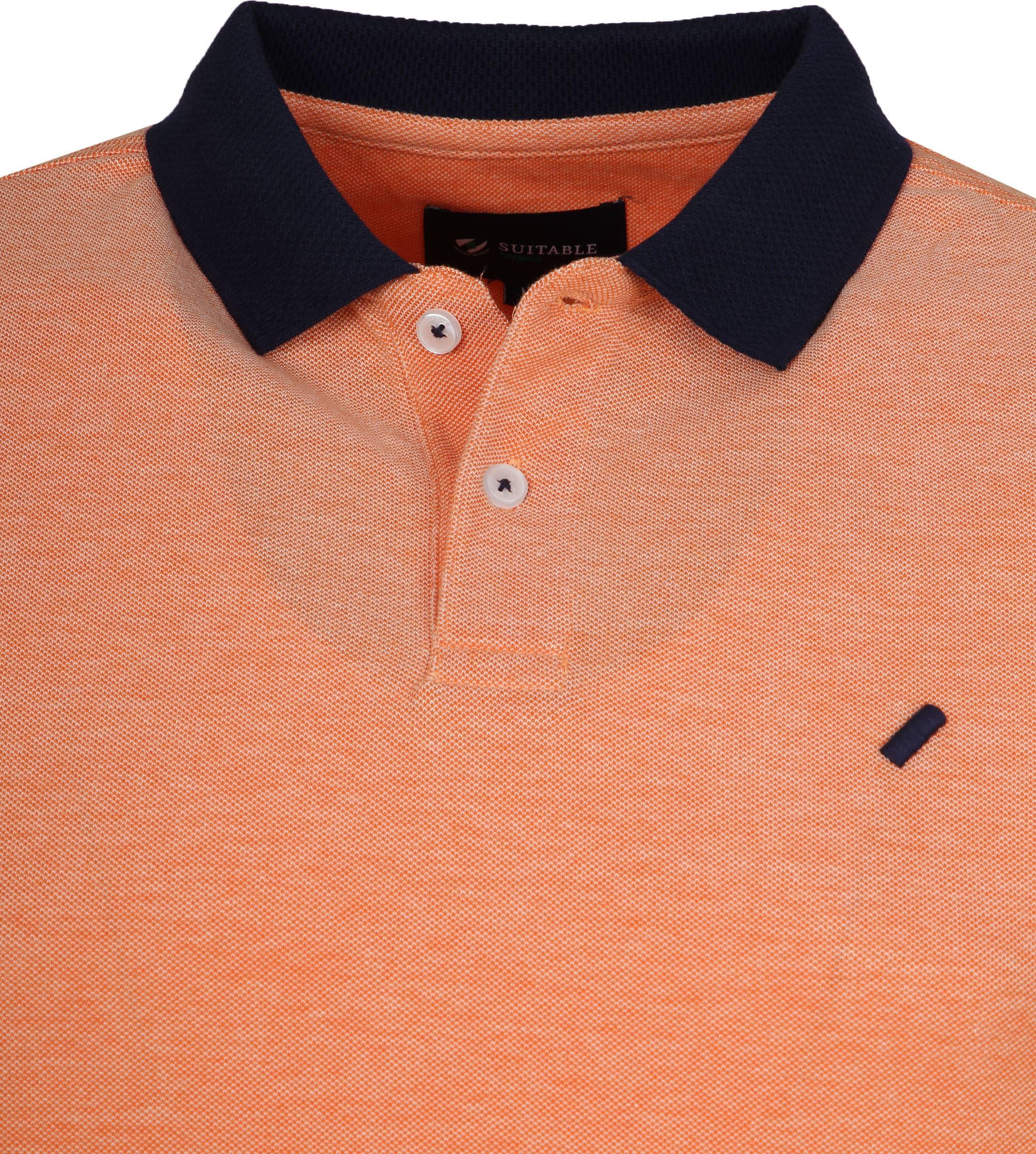 Suitable Respect Claas Polo Oranje