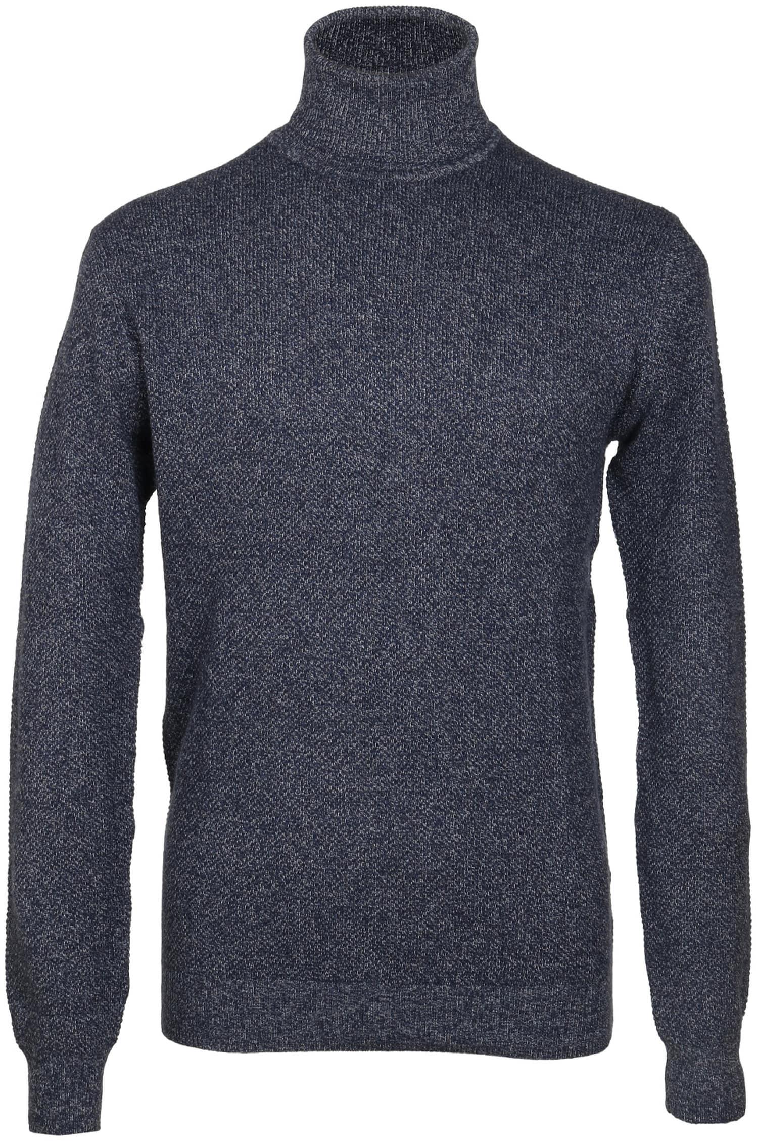 Suitable Rollkragenpullover Baumwolle Blau foto 0