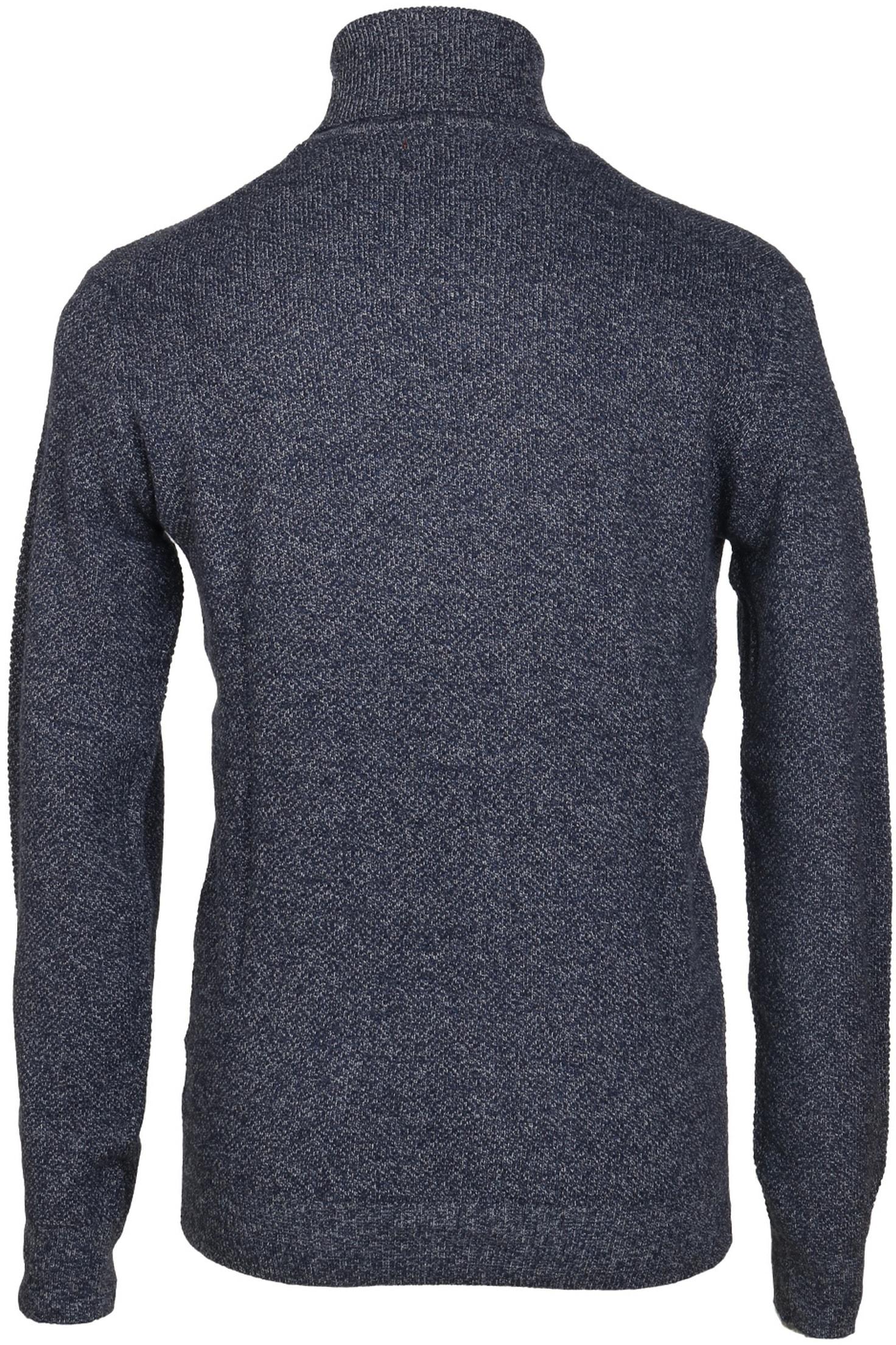 Suitable Rollkragenpullover Baumwolle Blau foto 1