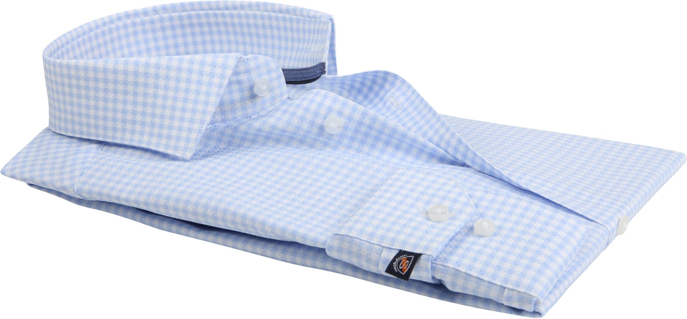 Suitable Ruiten Blauw Overhemd foto 3