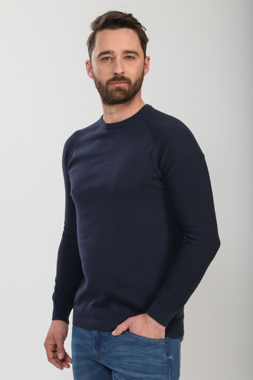Suitable Scott Pullover Donkerblauw