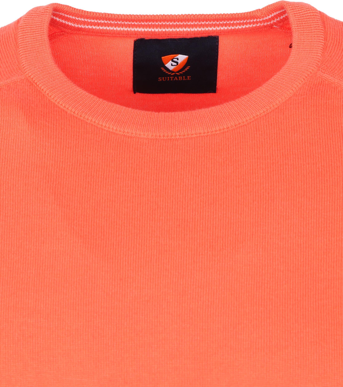 Suitable Scott Pullover Oranje
