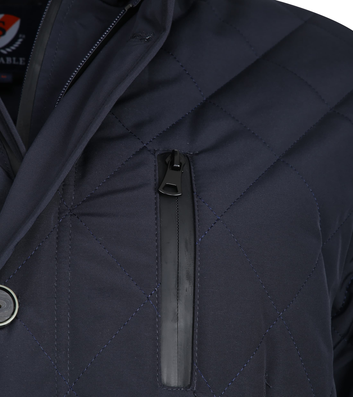 Suitable Seb Jacket Navy foto 3