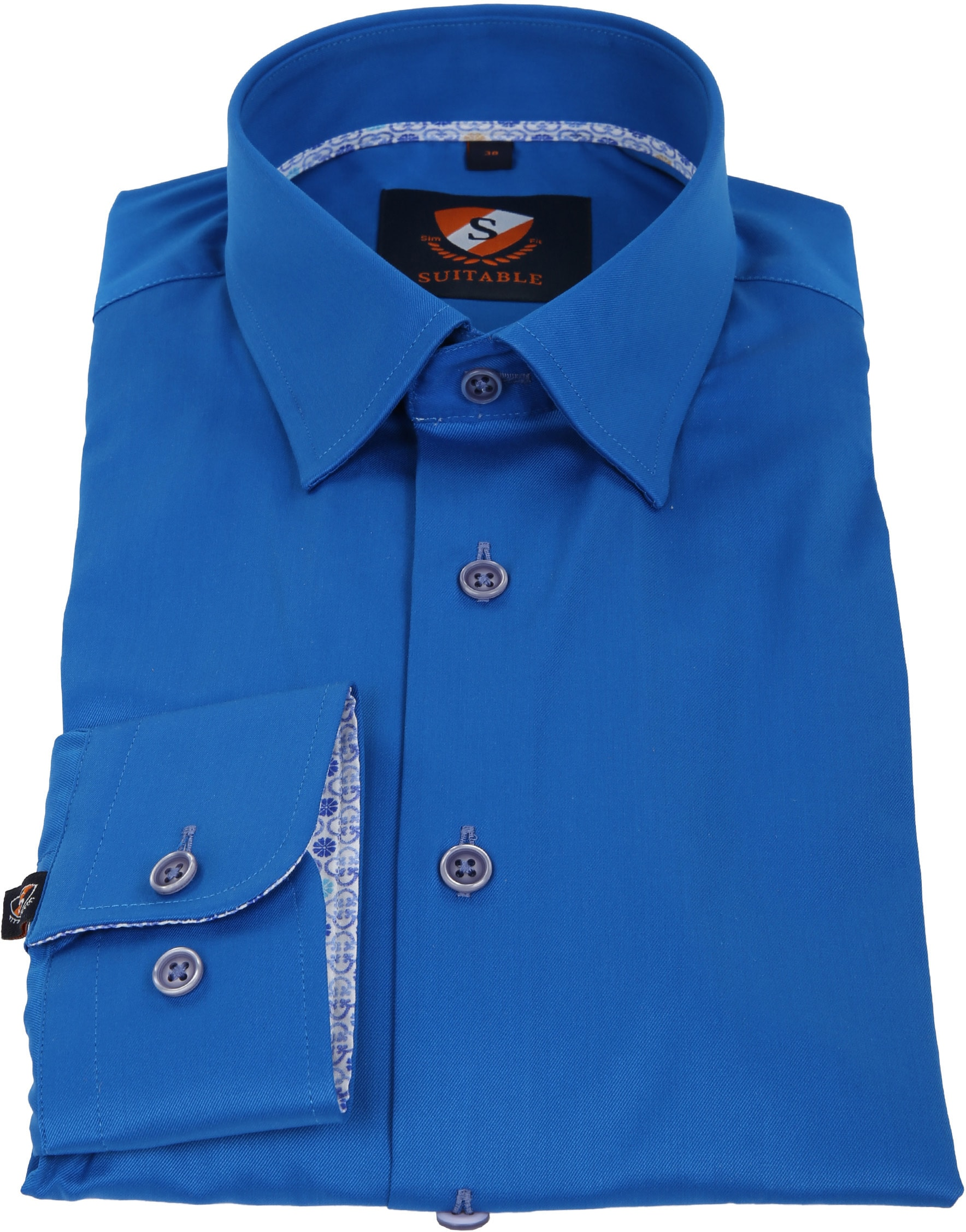 Suitable Shirt Cobalt 181-3 photo 3
