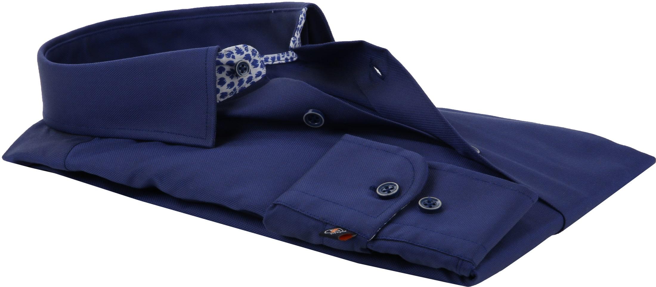 Suitable Shirt HBD Leaf Royal Navy foto 2