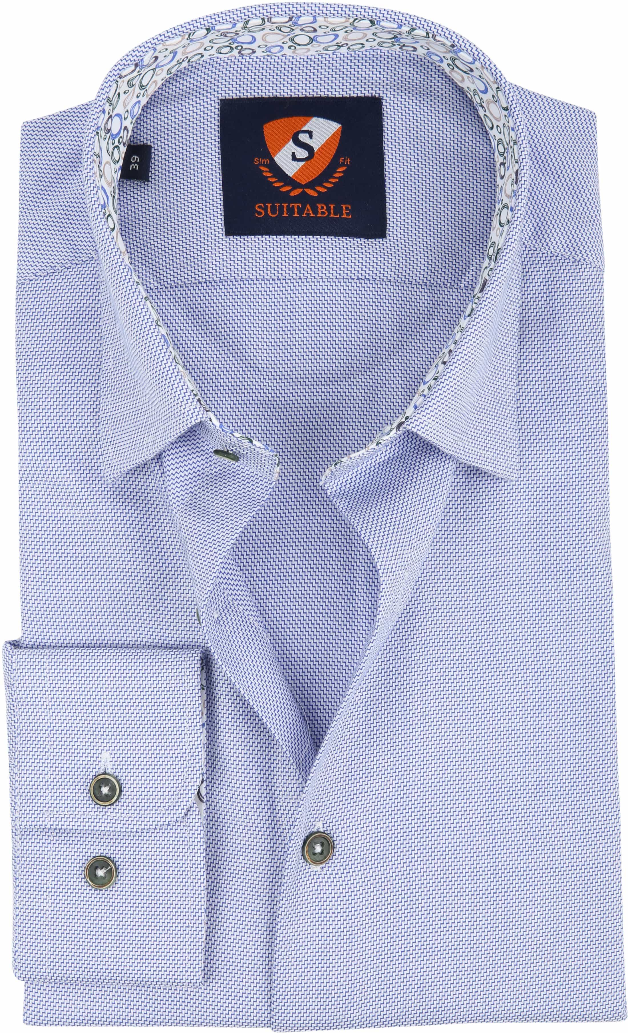 Suitable Shirt HBD Waut Blue foto 0