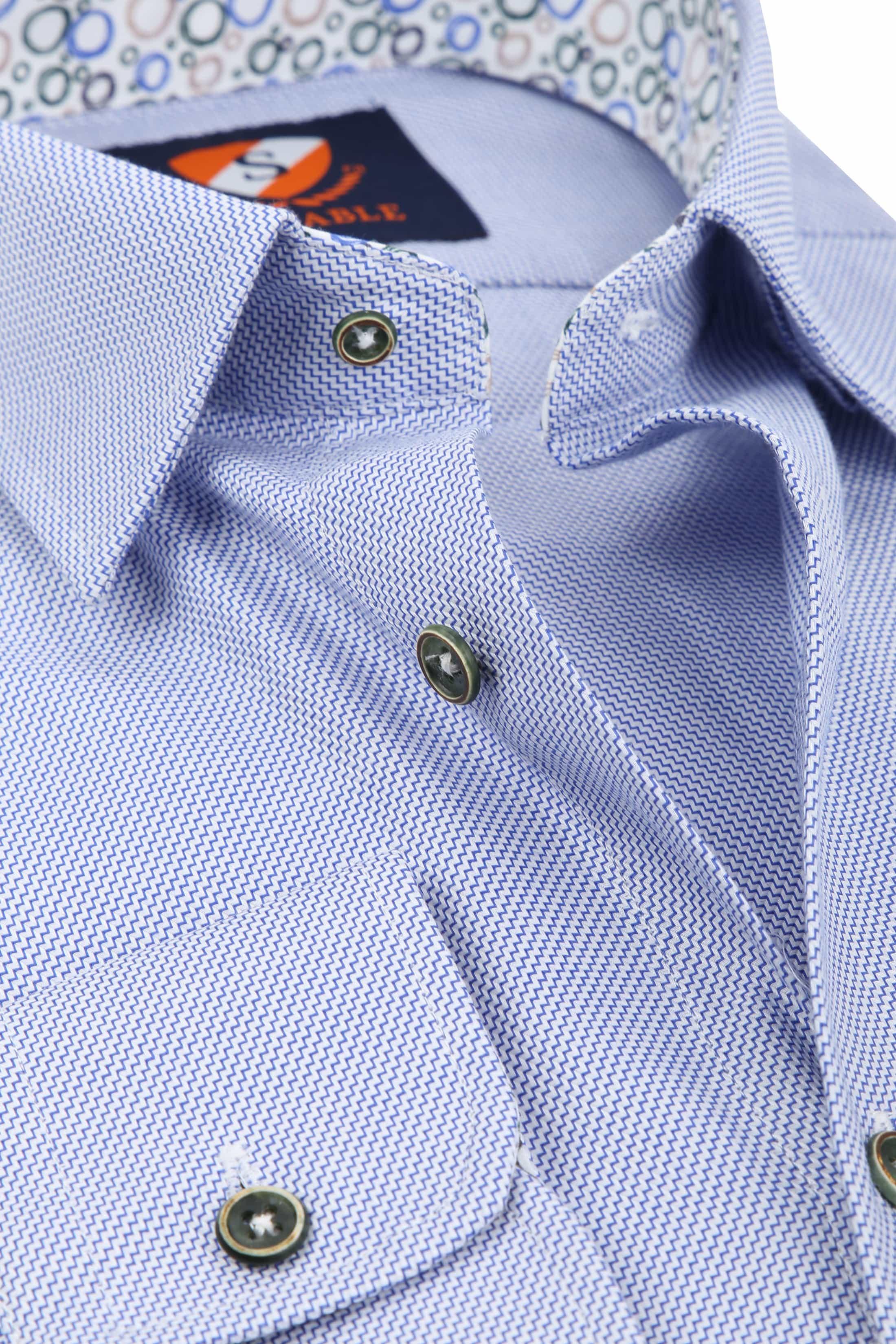 Suitable Shirt HBD Waut Blue foto 1