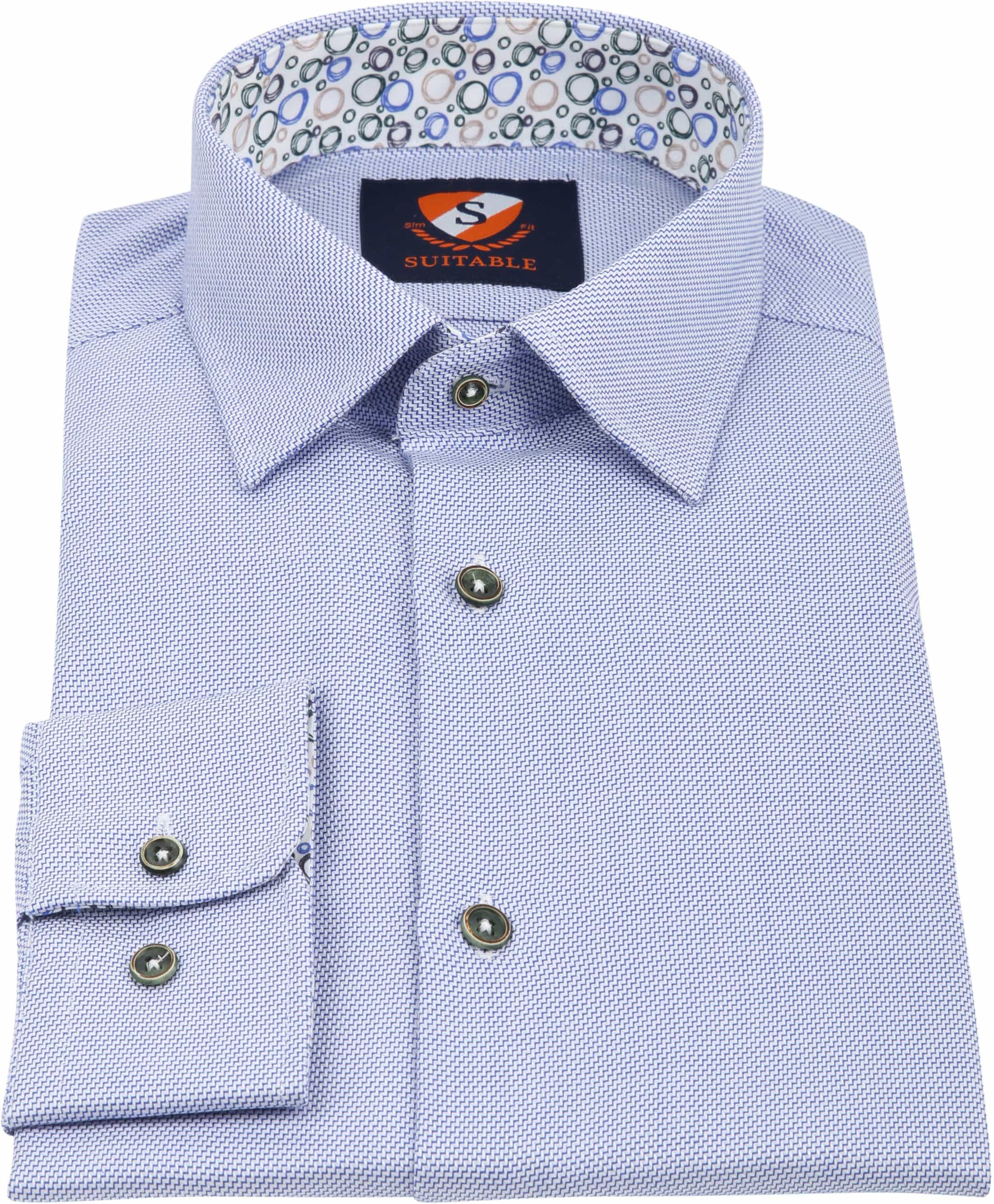 Suitable Shirt HBD Waut Blue foto 2