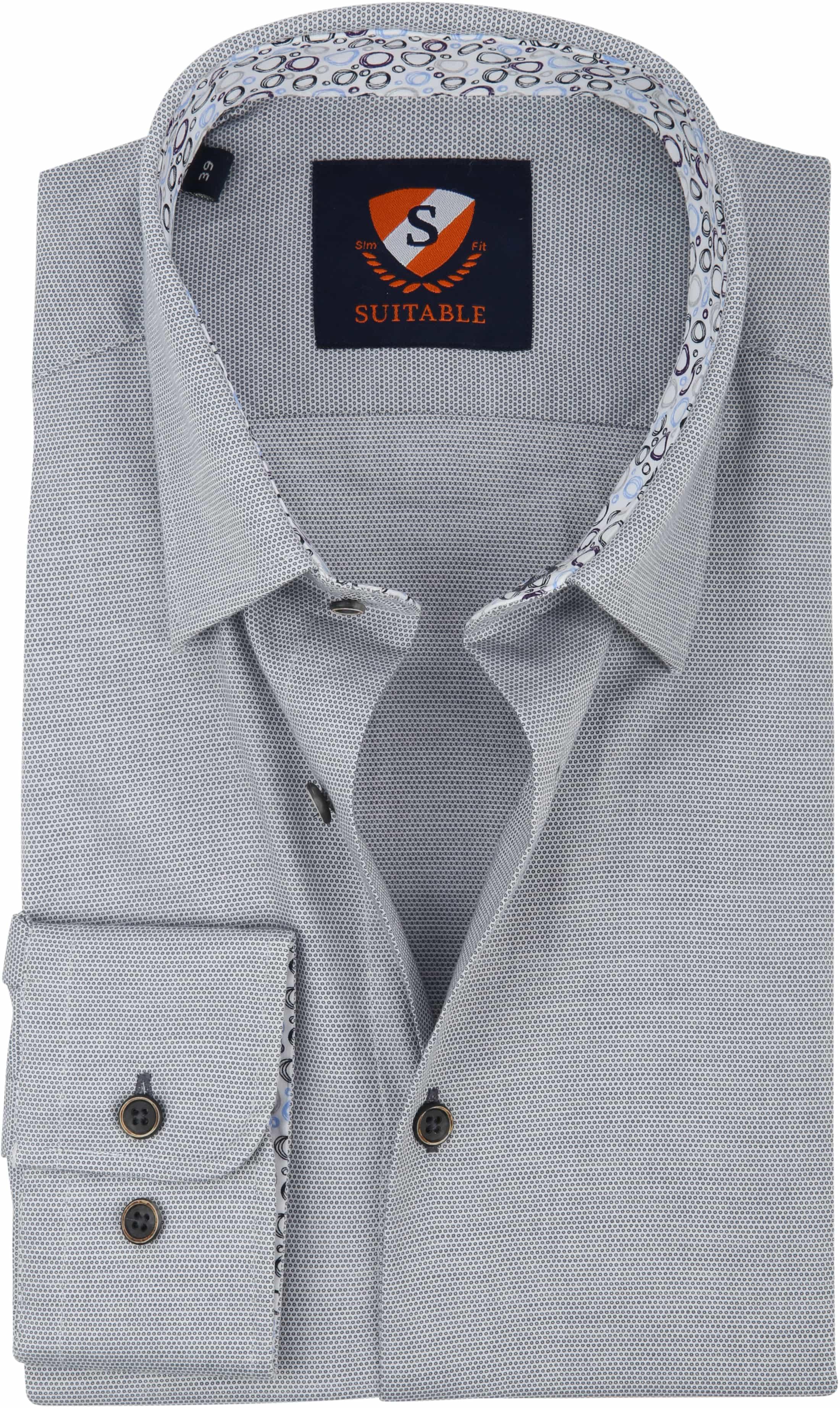Suitable Shirt HBD Wesley Grey foto 0