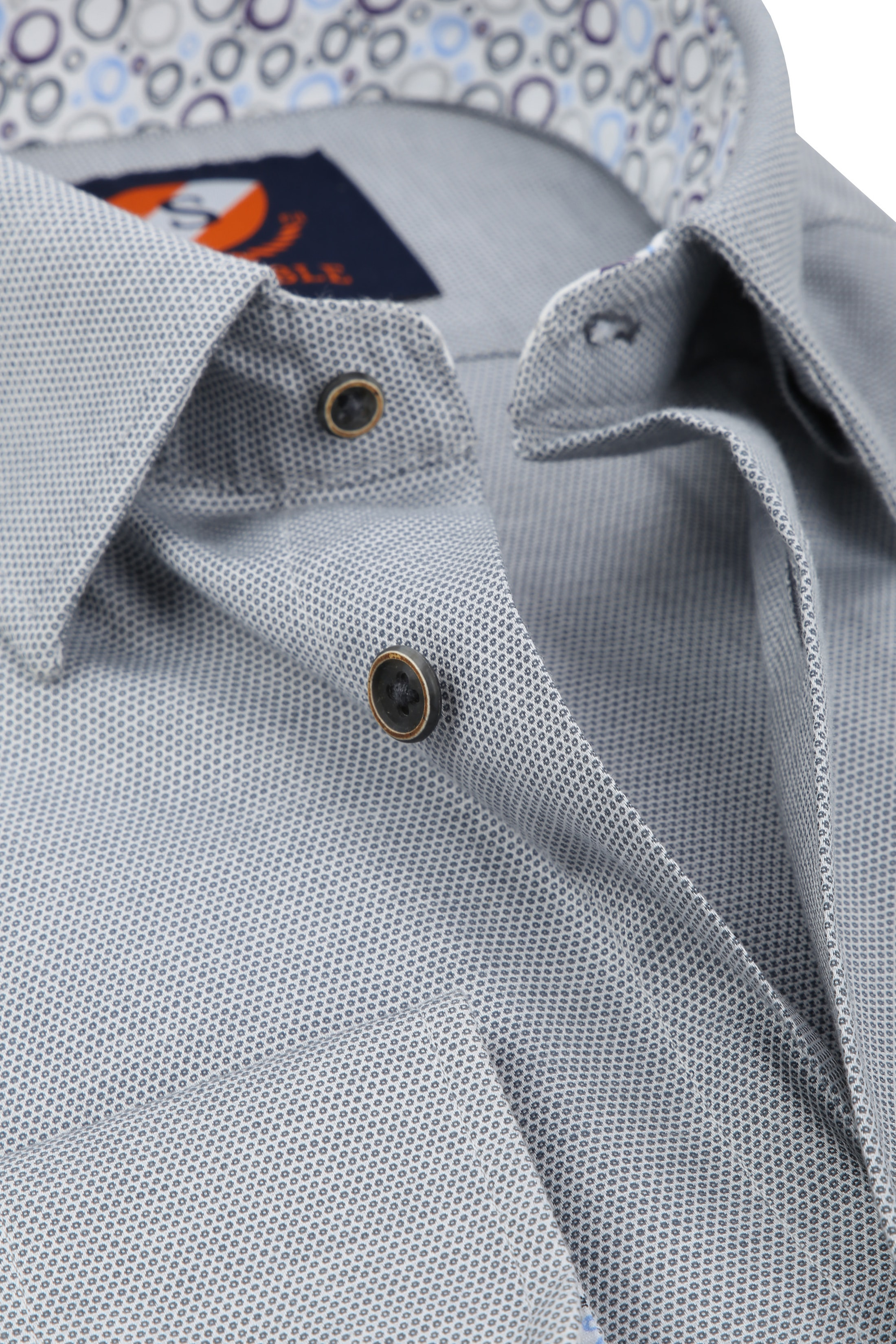 Suitable Shirt HBD Wesley Grey foto 1
