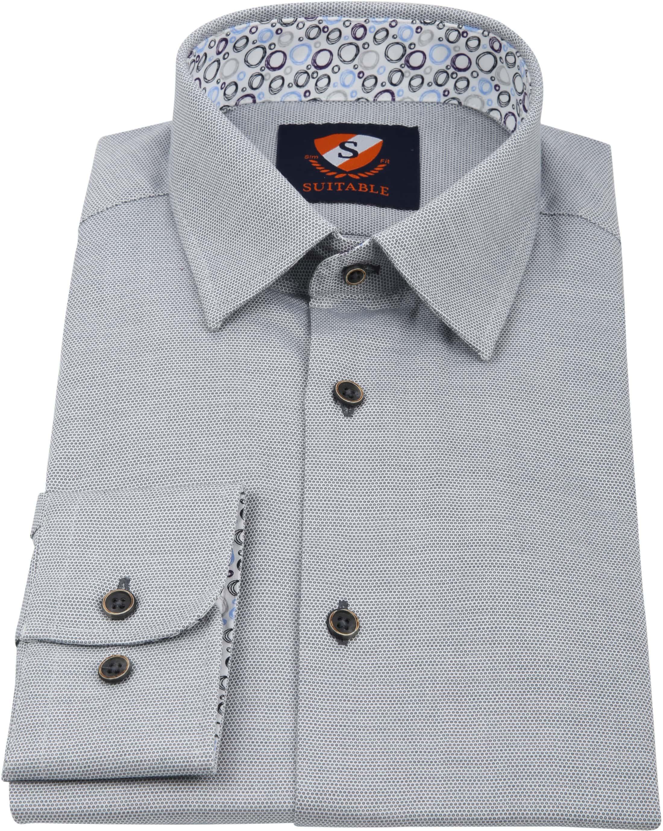 Suitable Shirt HBD Wesley Grey foto 2