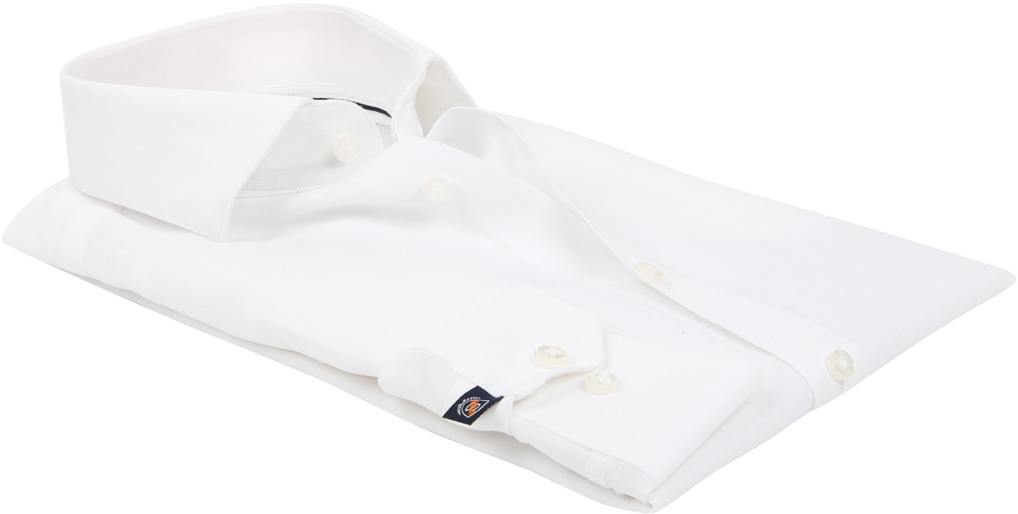 Suitable Shirt Linen White D81-13 foto 3