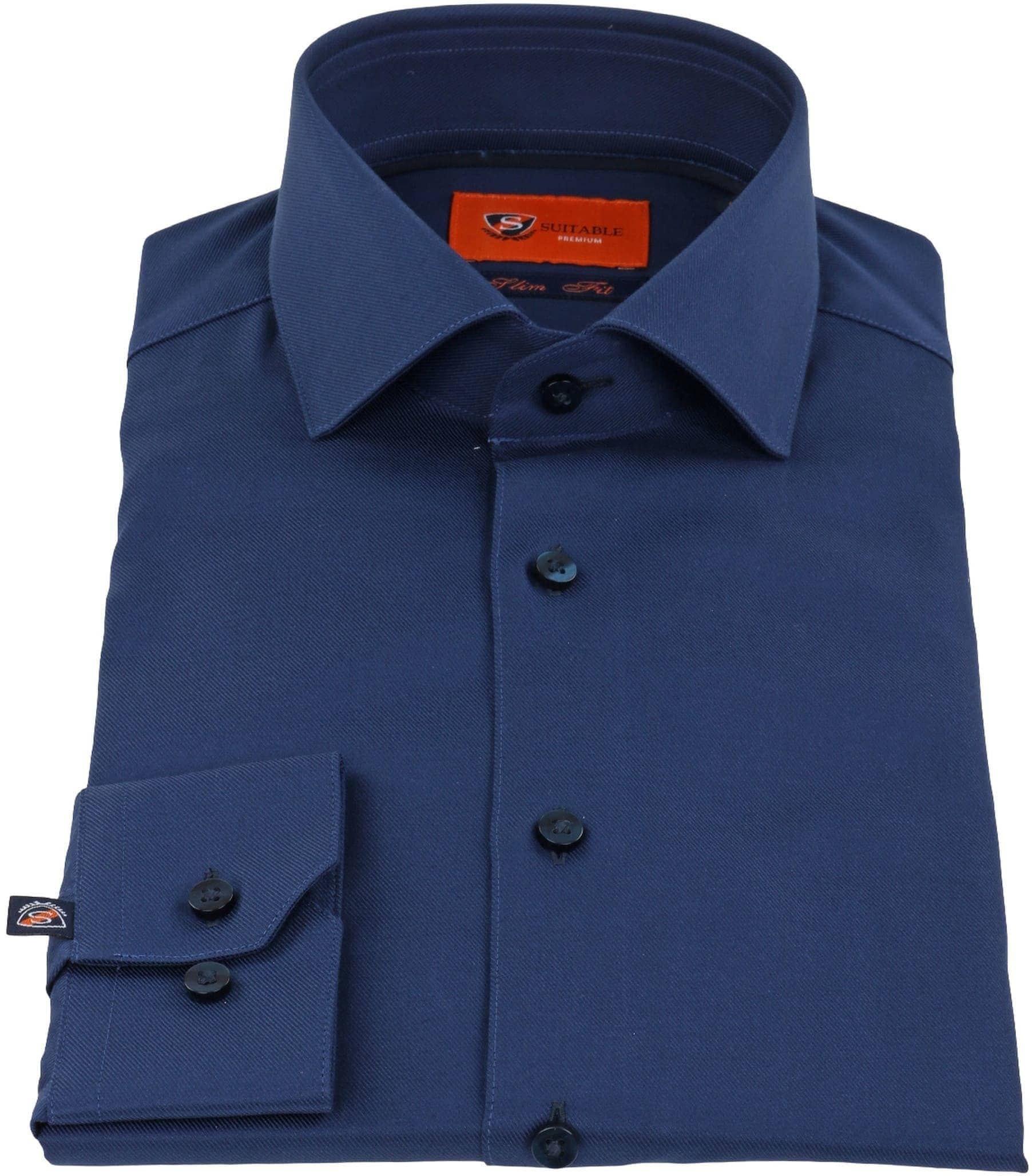 Suitable Shirt Navy Twill DR-05 foto 1