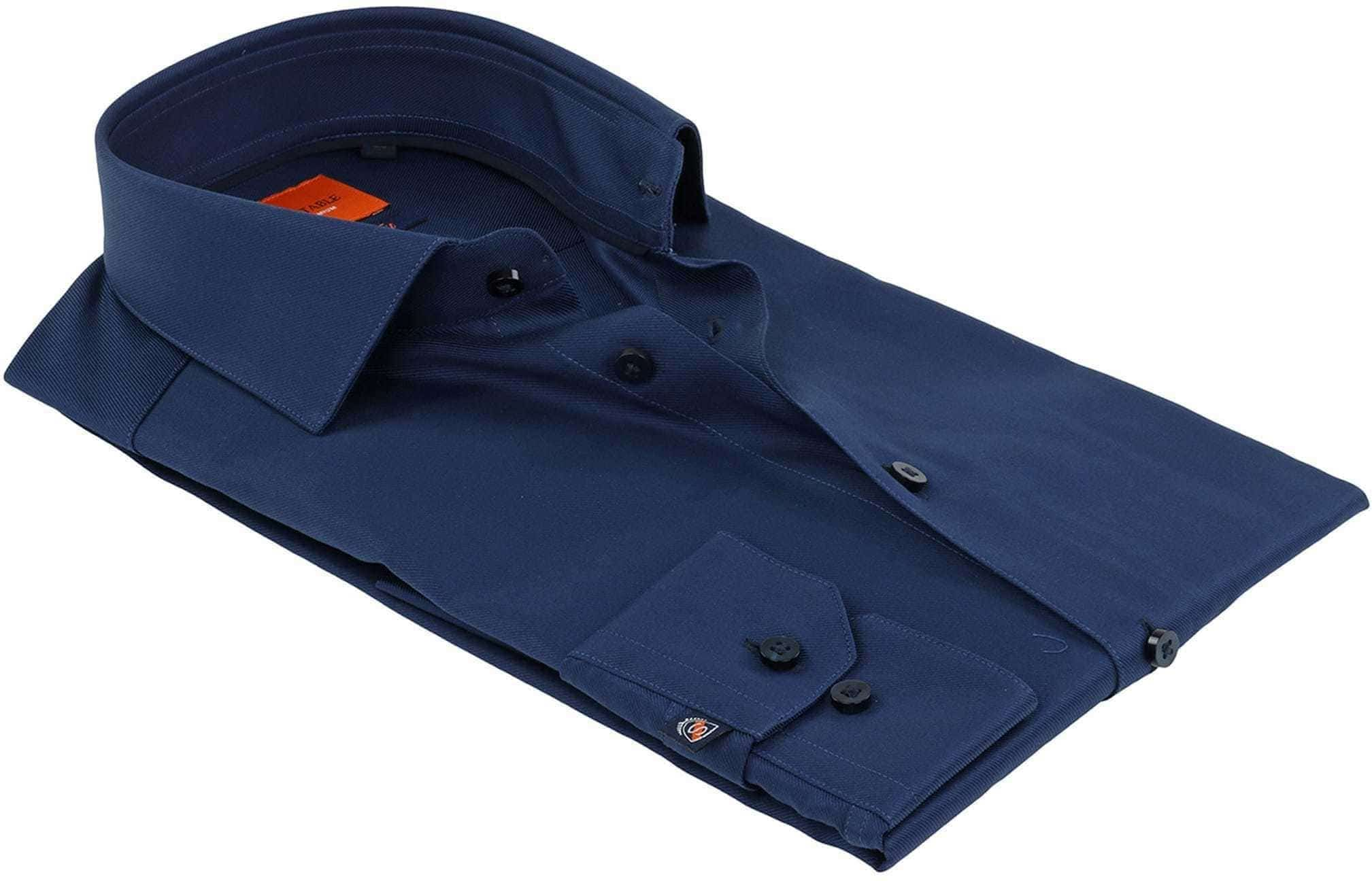 Suitable Shirt Navy Twill DR-05 foto 3