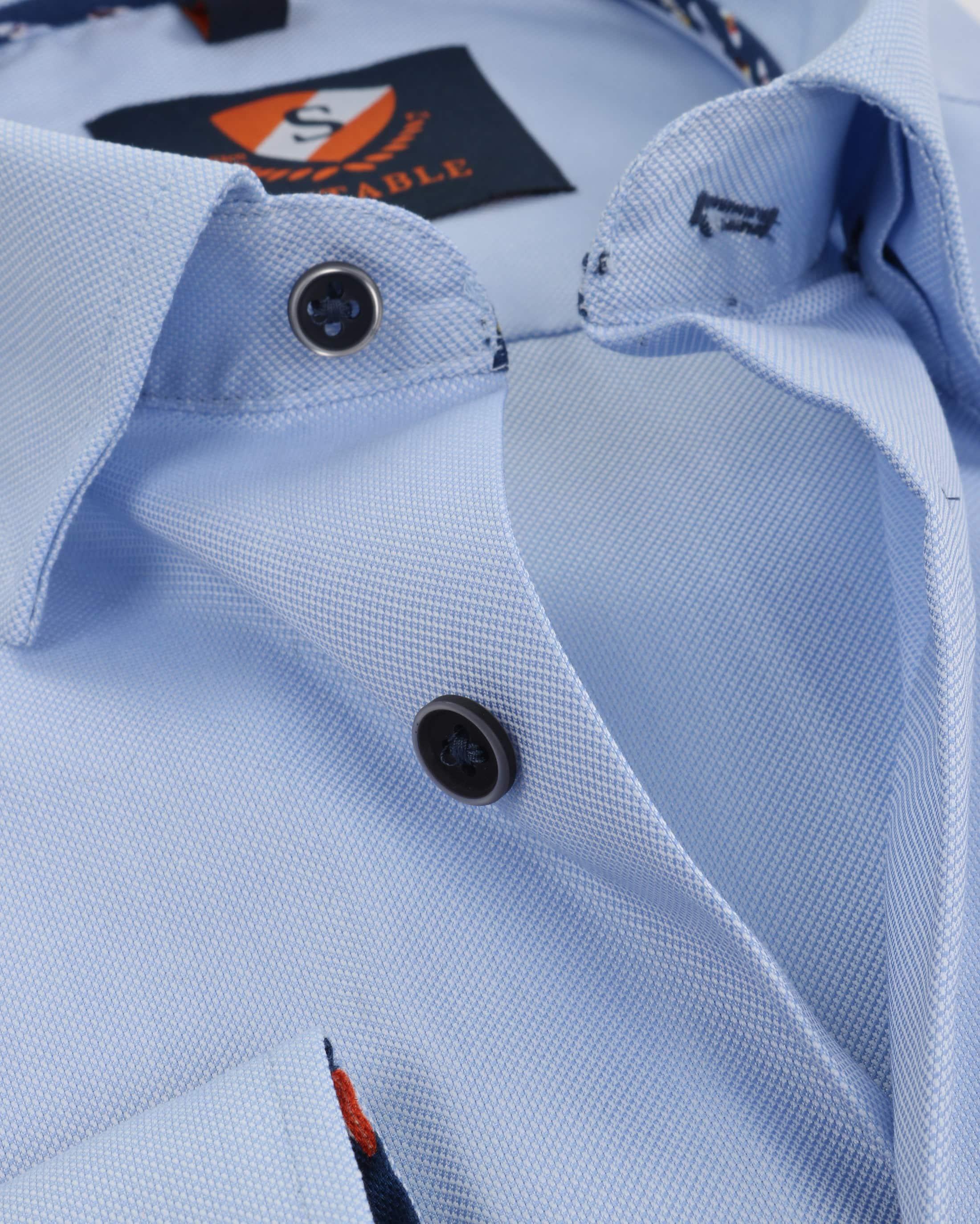 Suitable Shirt Oxford Blue SF foto 1