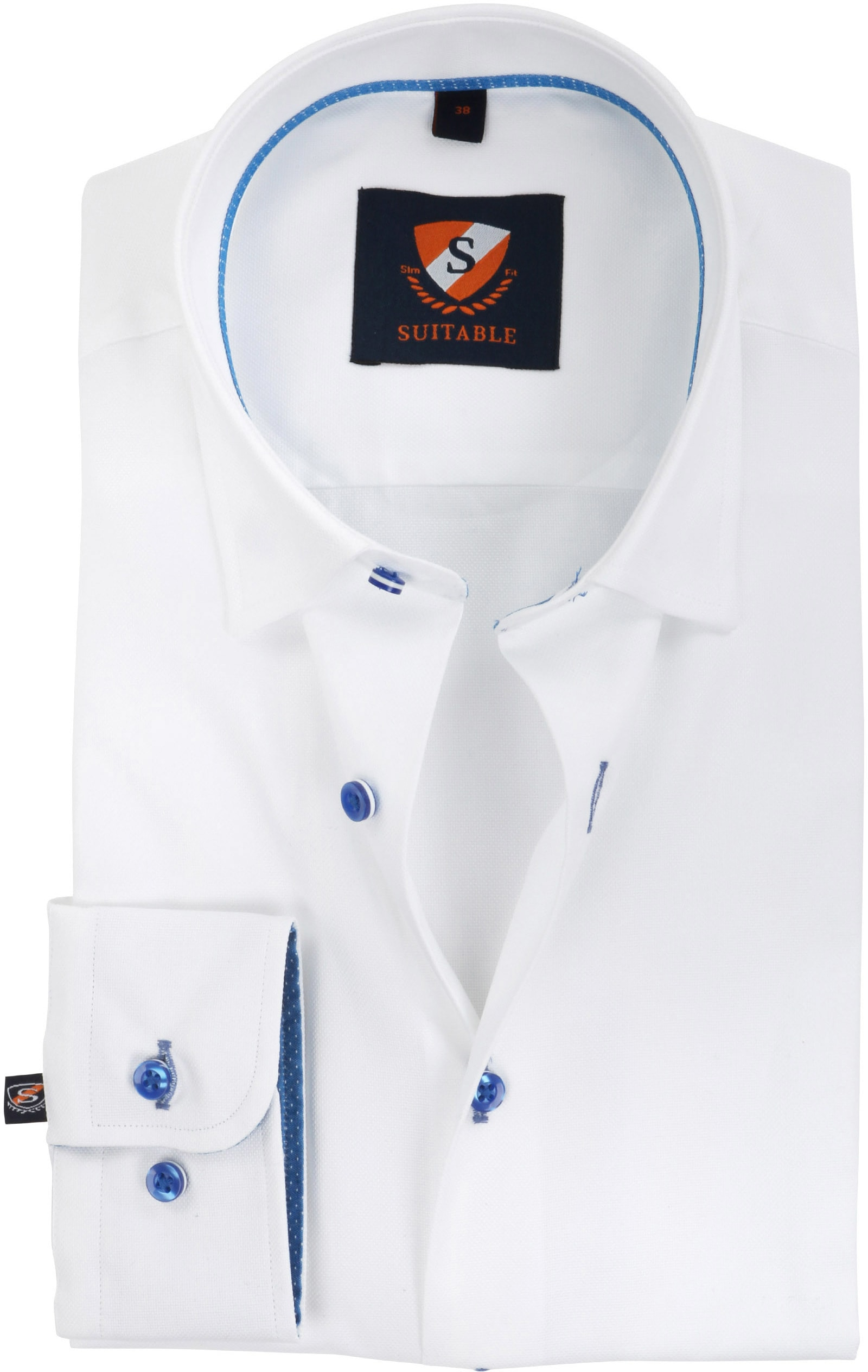 Suitable Shirt Oxford White SF foto 0