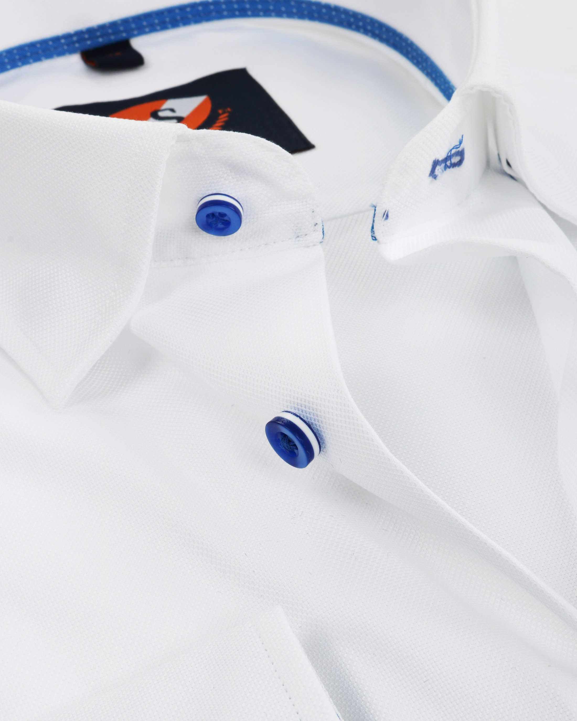 Suitable Shirt Oxford White SF foto 1