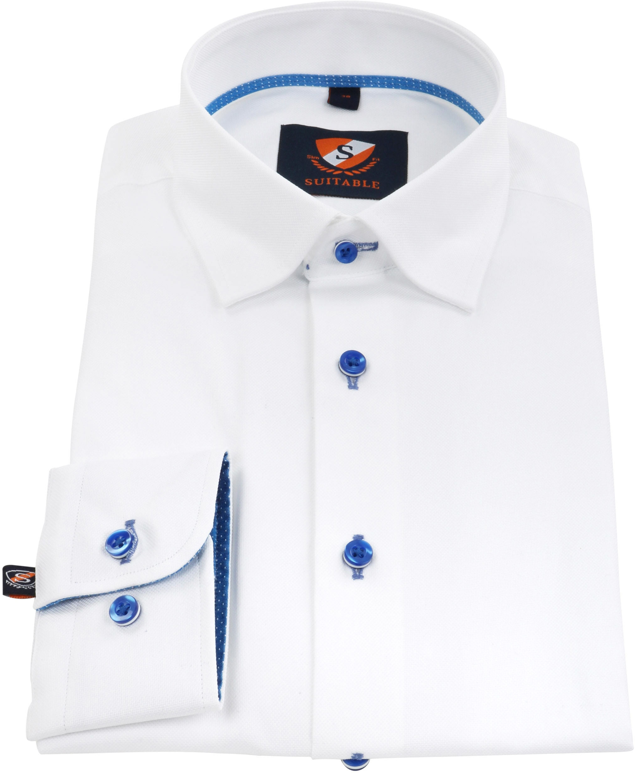 Suitable Shirt Oxford White SF foto 2
