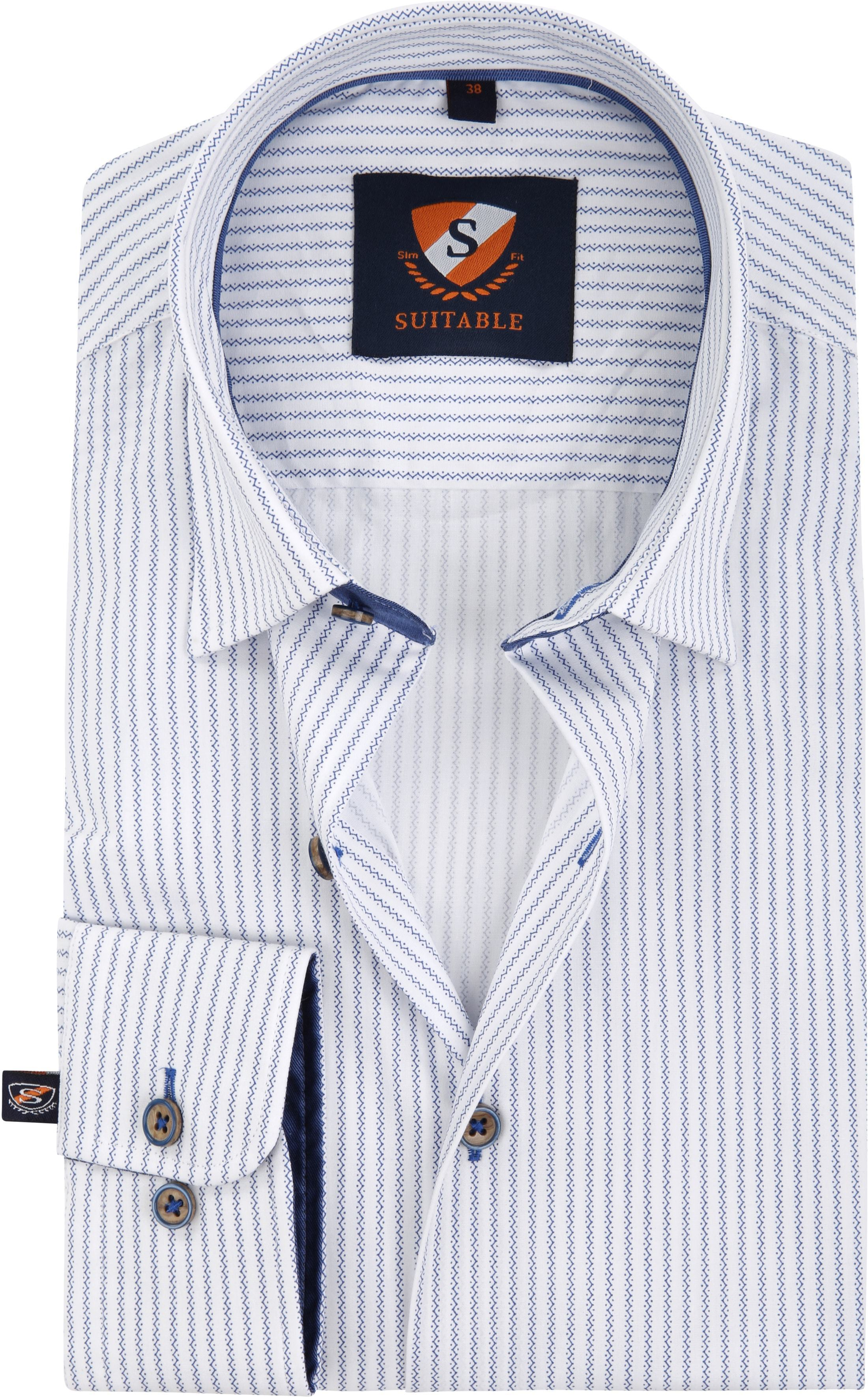 792a6f27e8d4 Suitable Shirt Print Stripe 184-4 HBD Print Stripe order online ...
