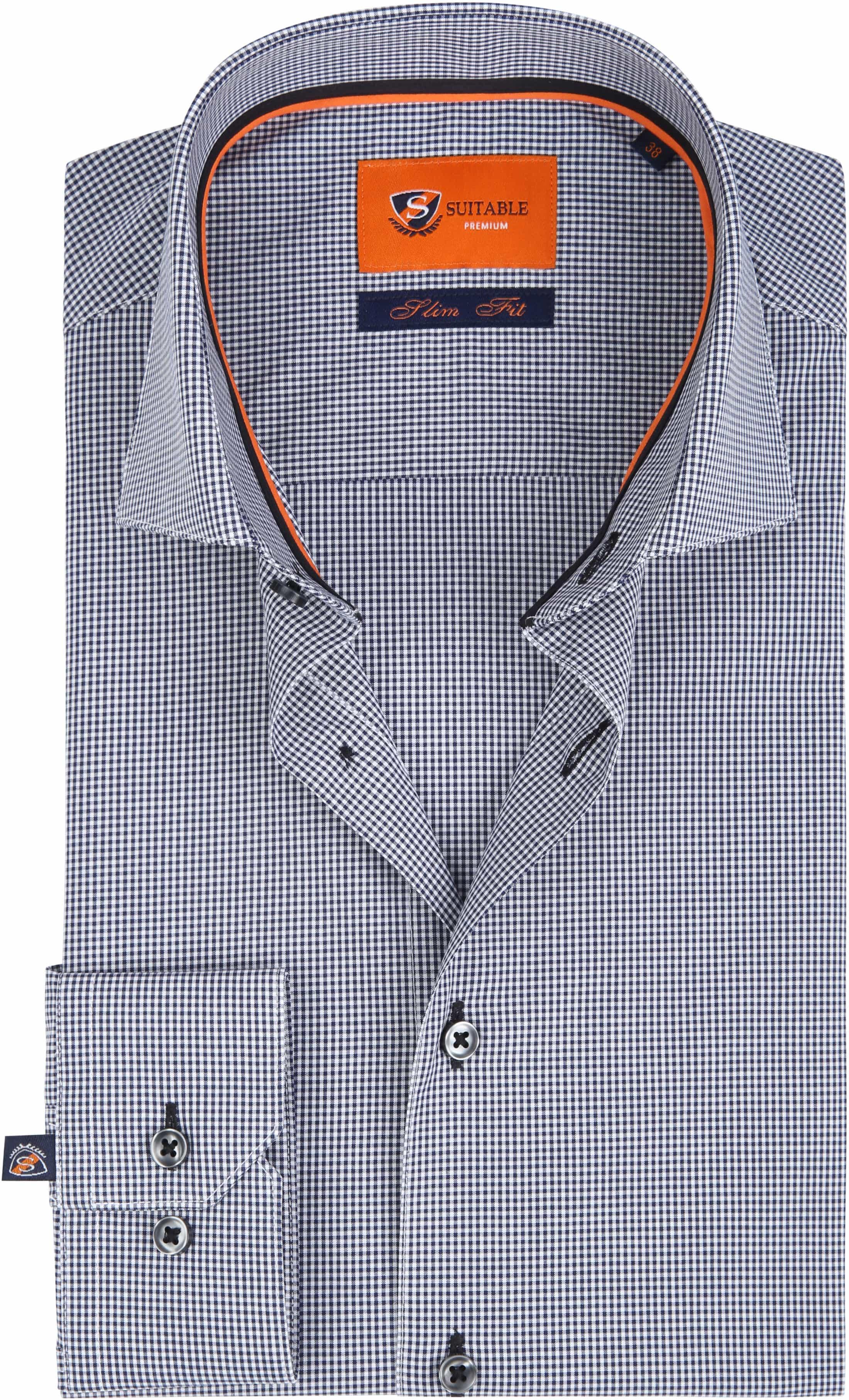 Suitable Shirt SF Checks foto 0