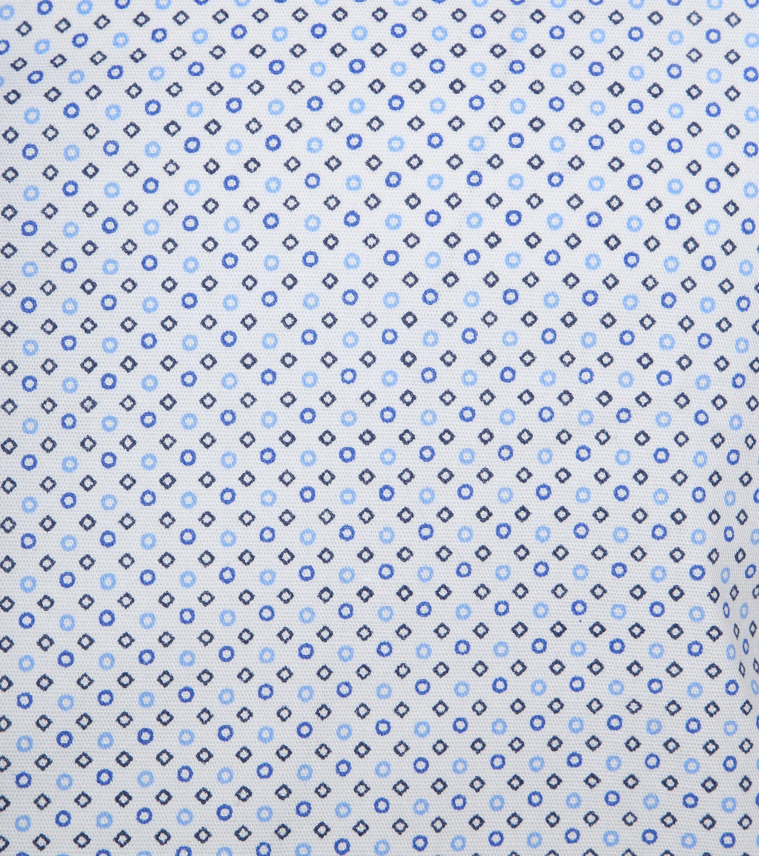 Suitable Shirt SS Carre White Blue foto 2