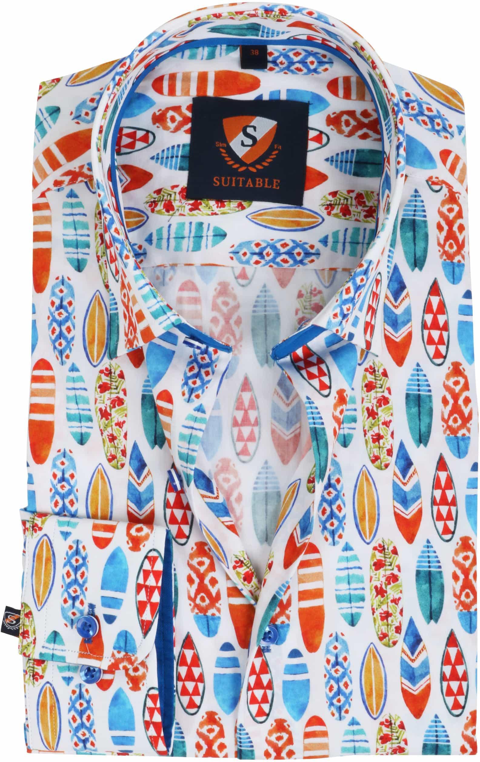 Suitable Shirt Surf Print foto 0