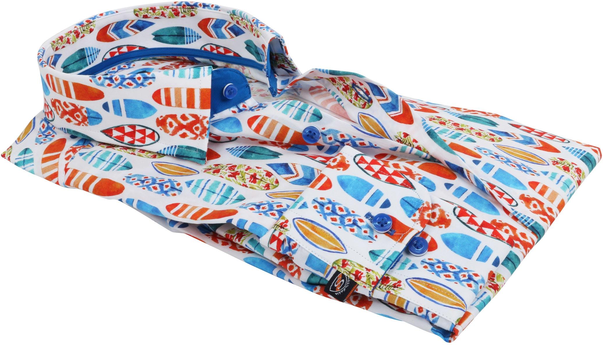 Suitable Shirt Surf Print foto 4