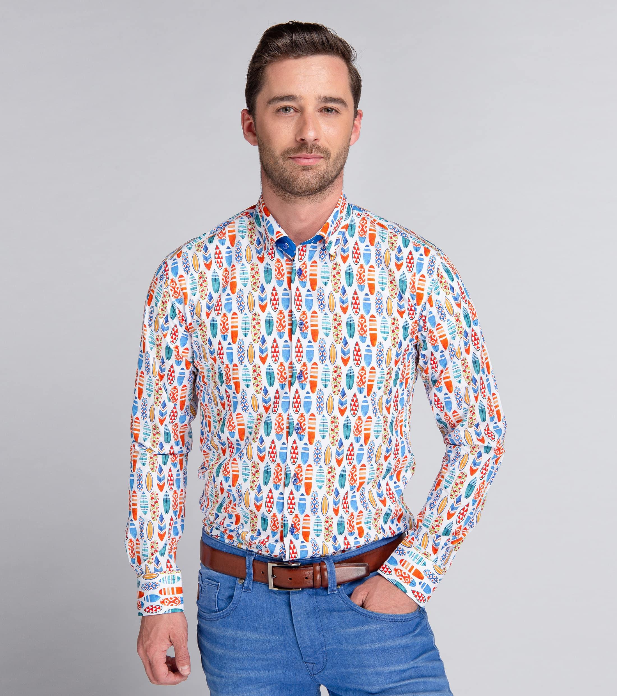Suitable Shirt Surf Print foto 1