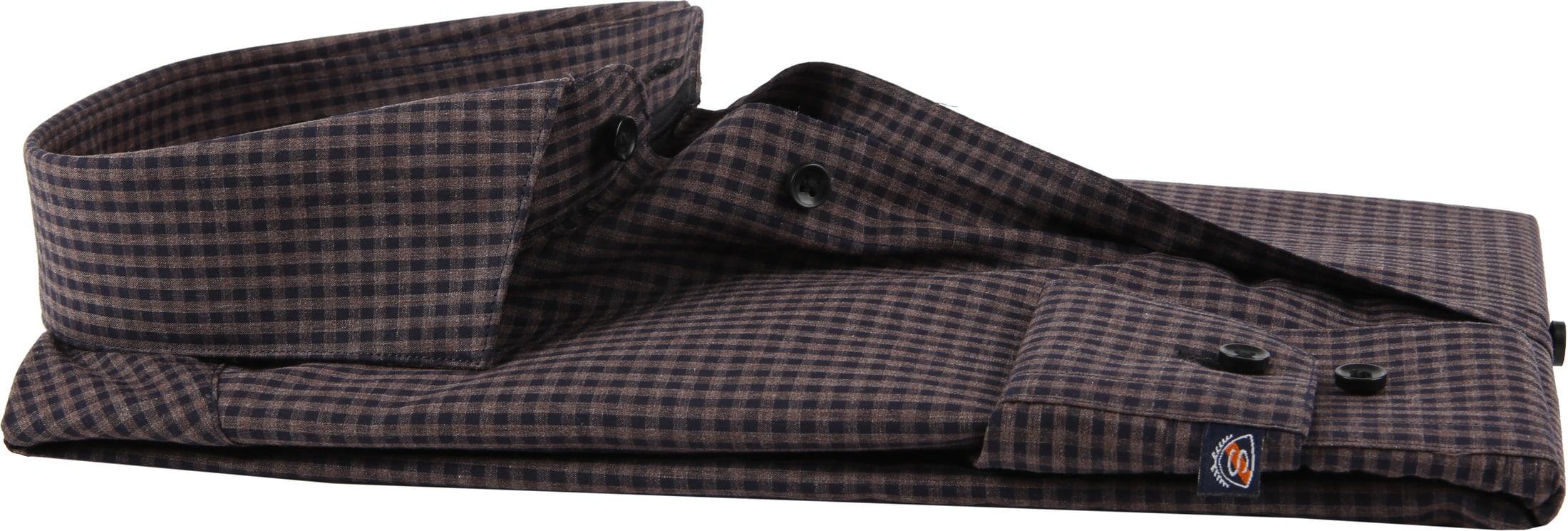 Suitable Shirt Vichy Checks Brown foto 2