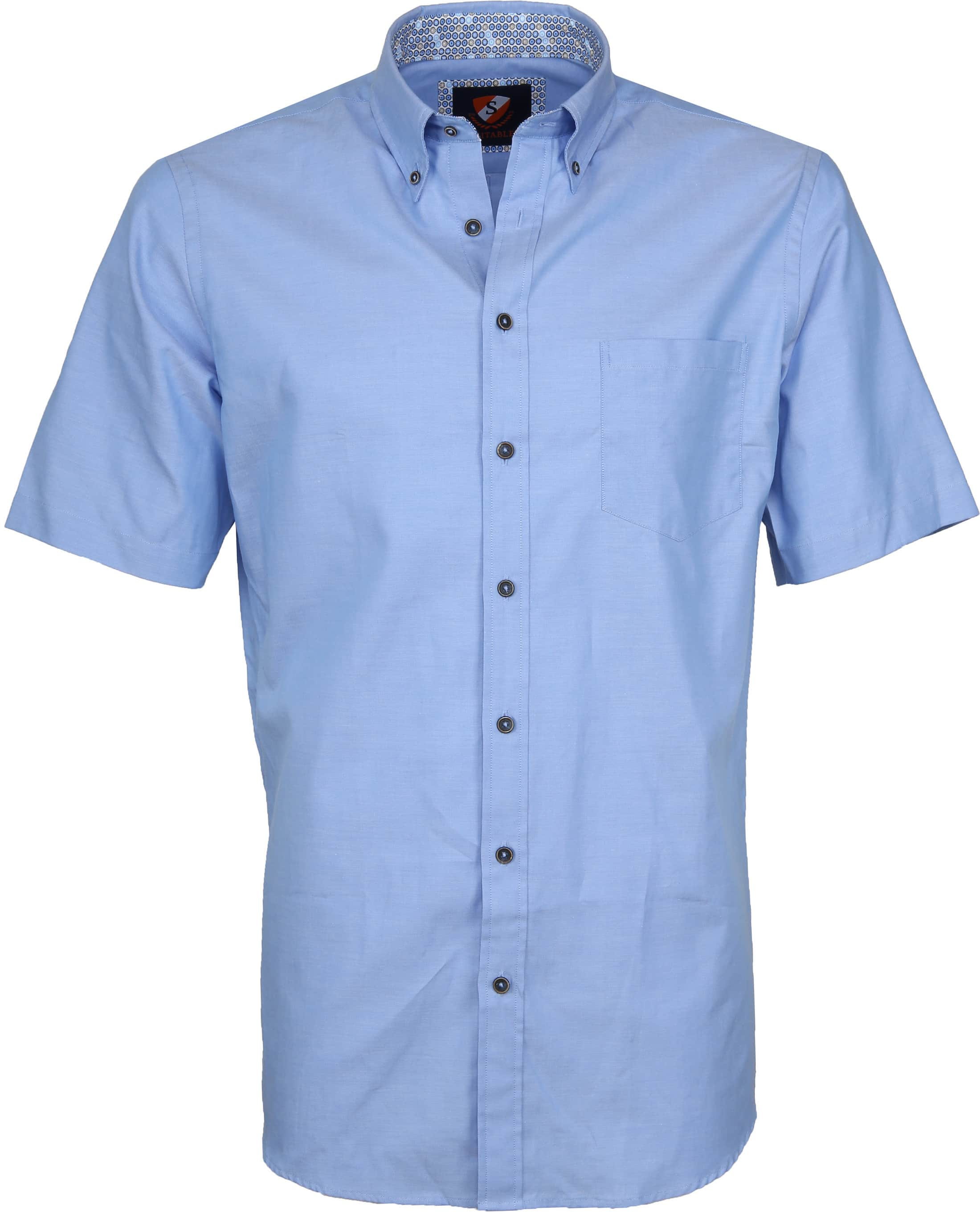 Suitable Shirt Wolf Light Blue foto 0