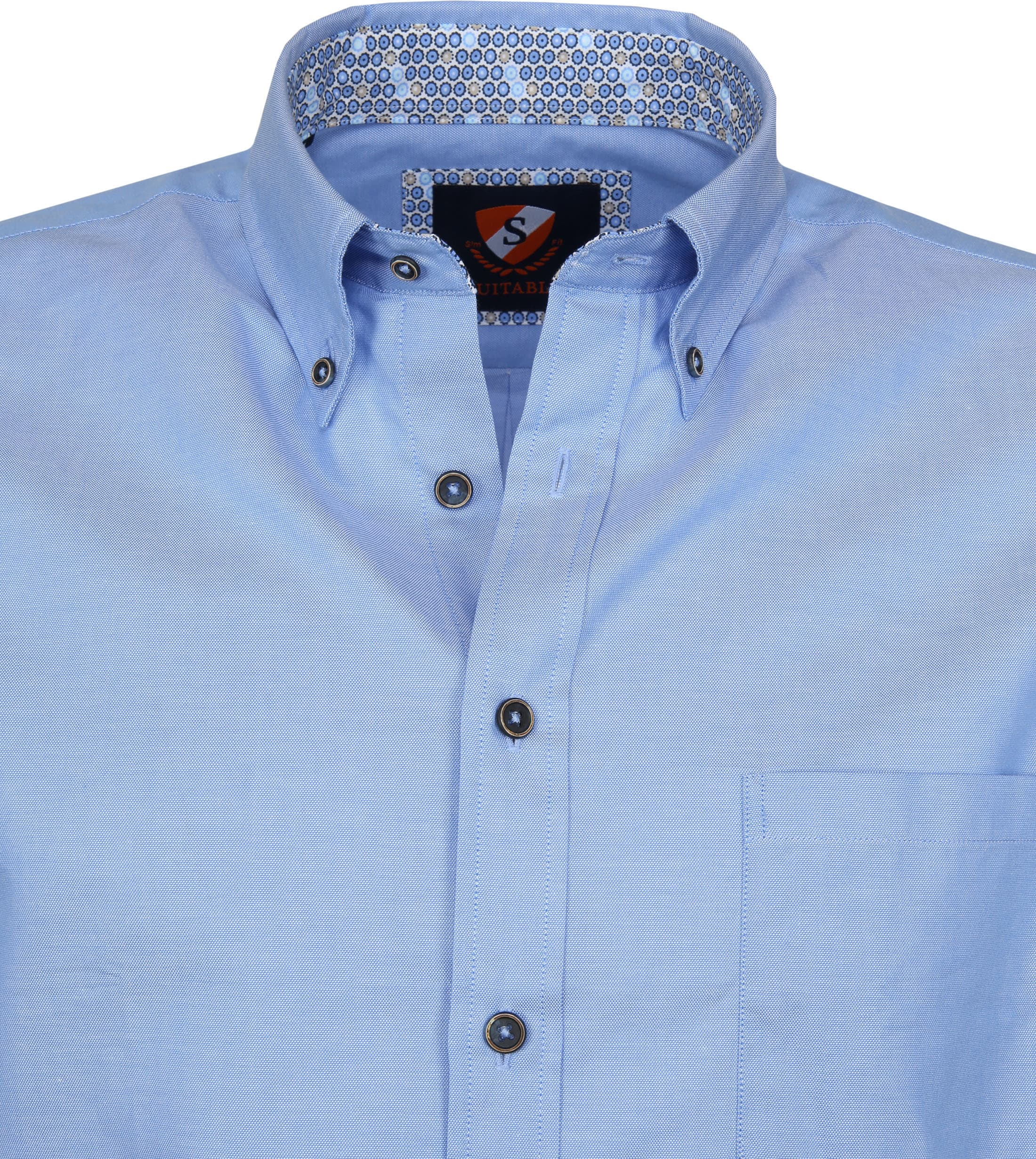 Suitable Shirt Wolf Light Blue foto 2