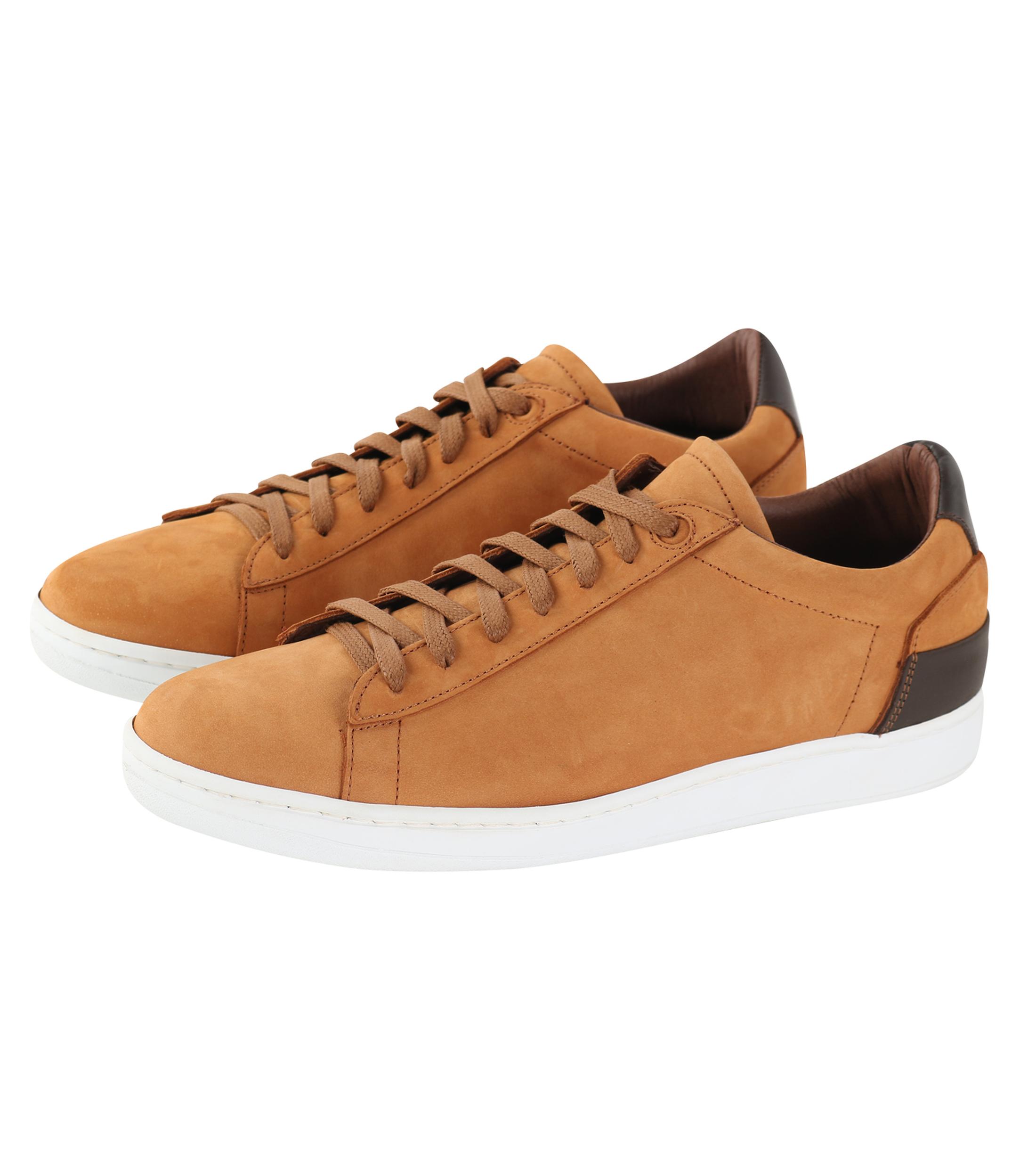 Suitable Sneaker Cognac Nubuck foto 0