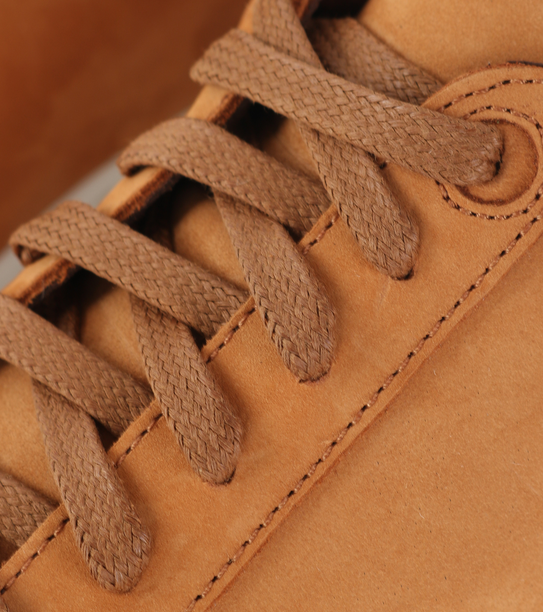 Suitable Sneaker Cognac Nubuck foto 1