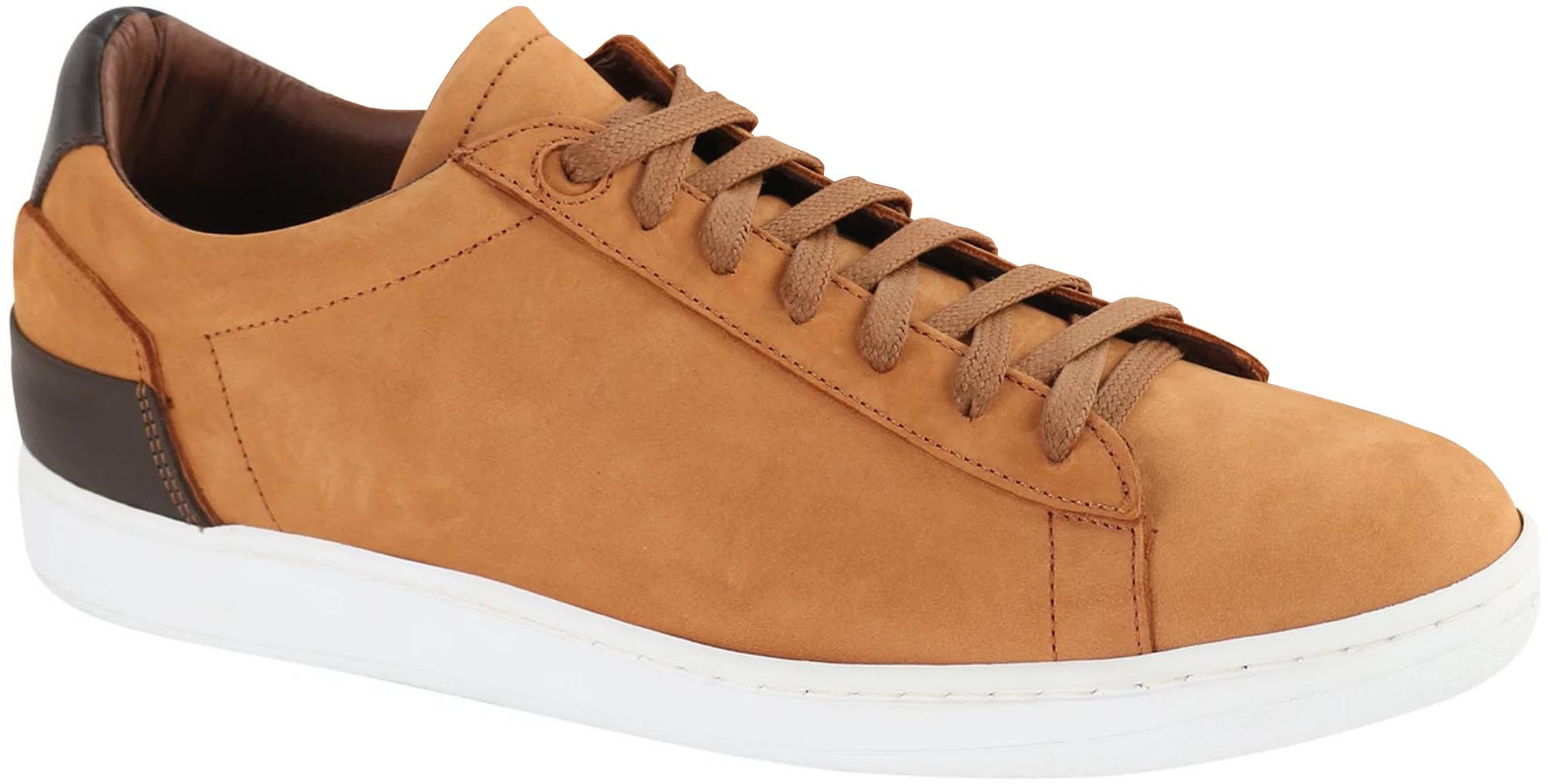 Suitable Sneaker Cognac Nubuck foto 0