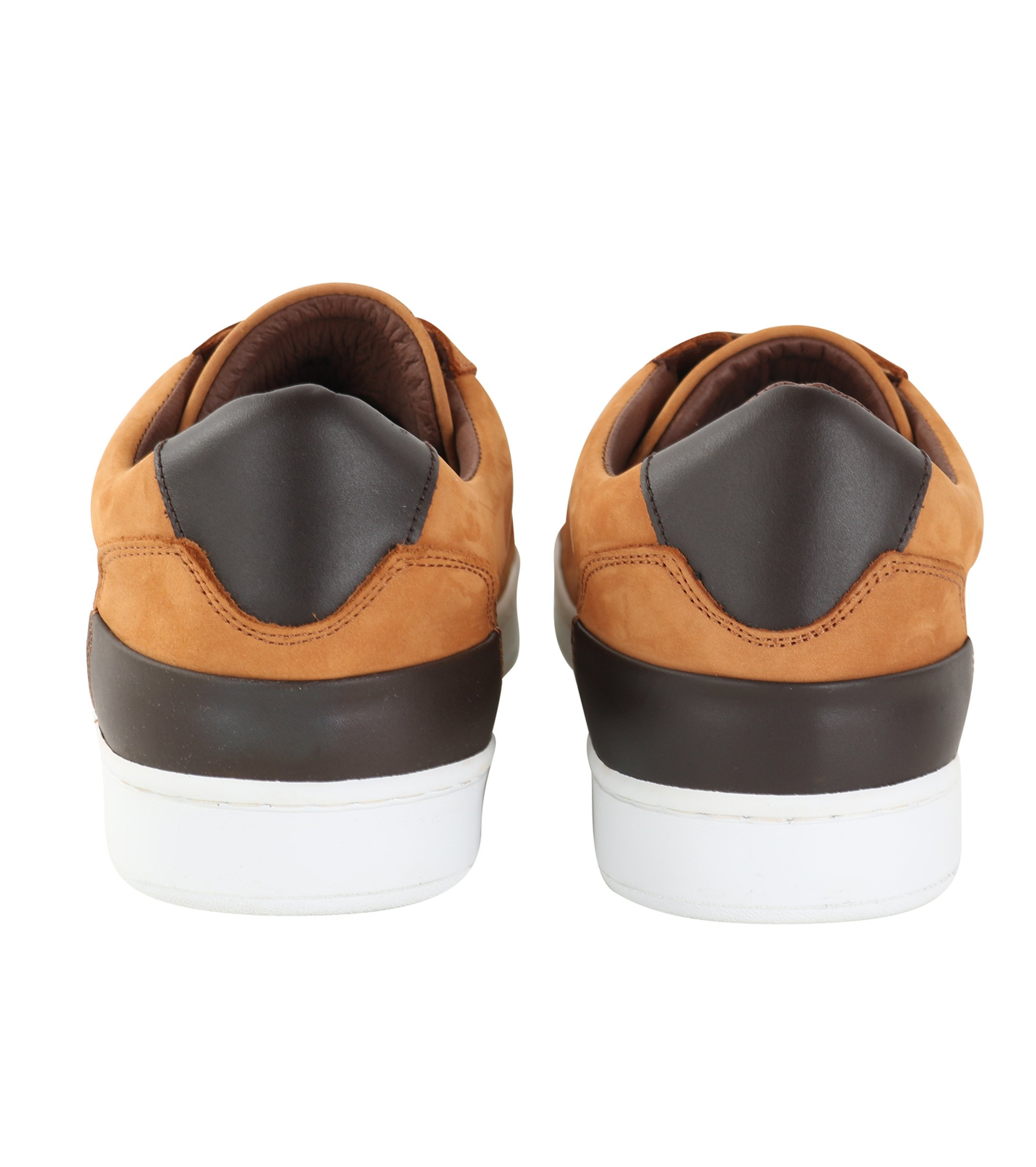 Suitable Sneaker Cognac Nubuk foto 2