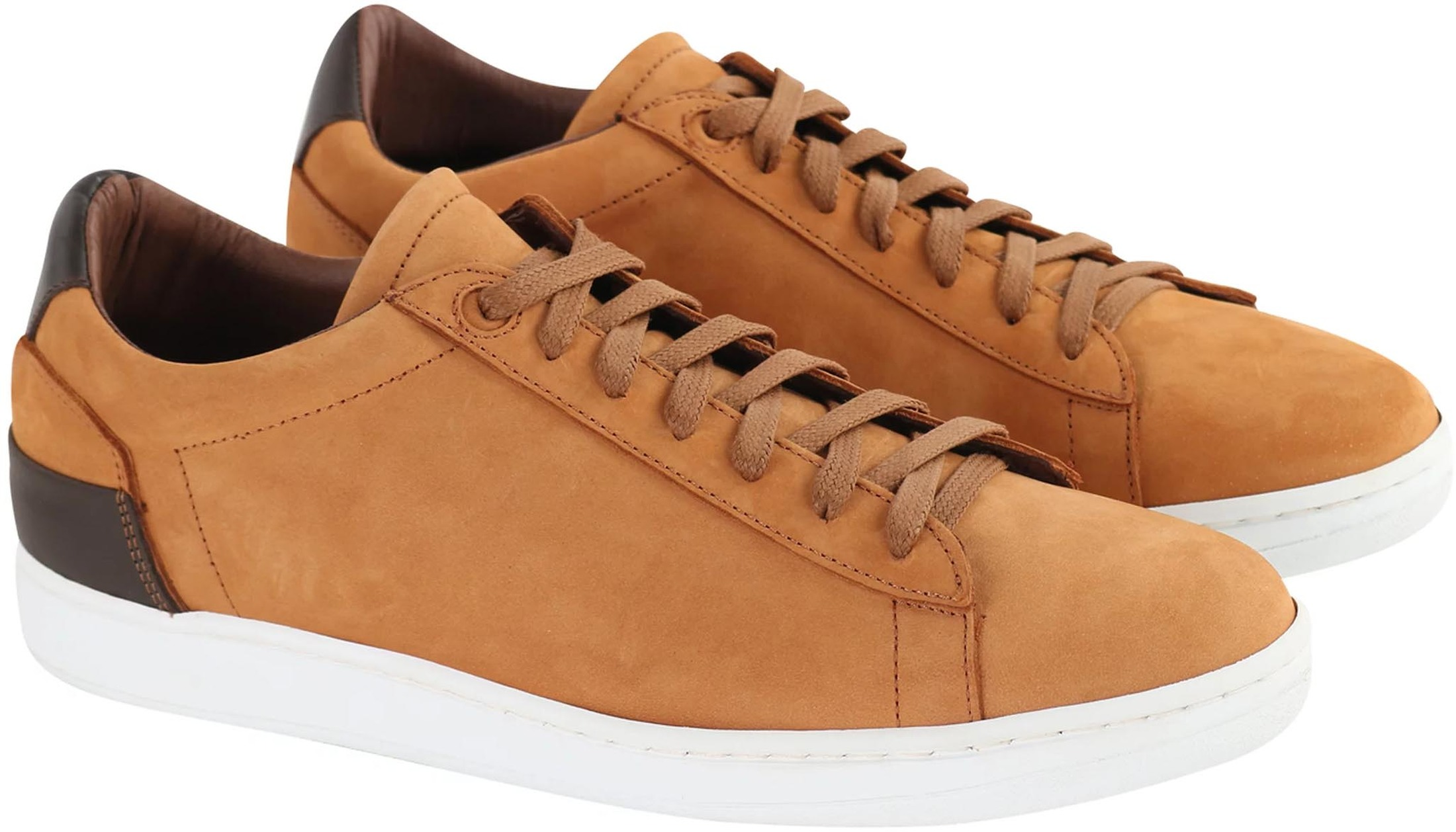 Suitable Sneaker Cognac Nubuk foto 0