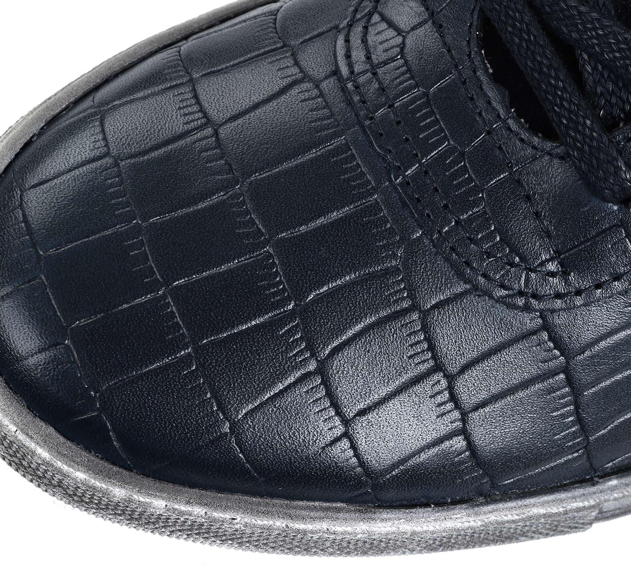 Suitable Sneaker Croco Dunkelblau foto 3
