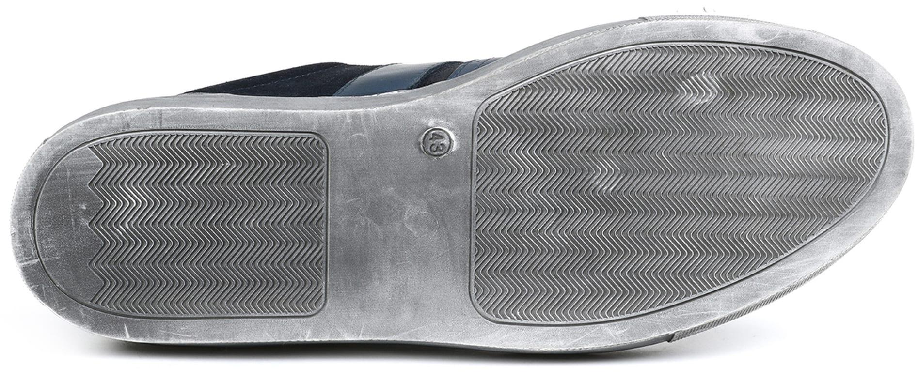 Suitable Sneaker Croco Navy foto 7