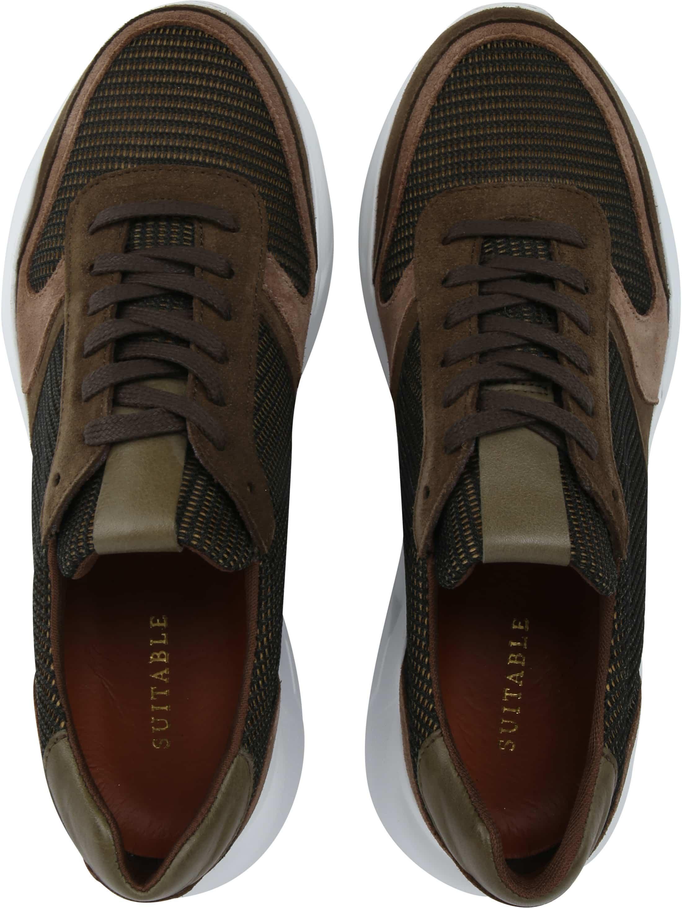 Suitable Sneaker Dark Green