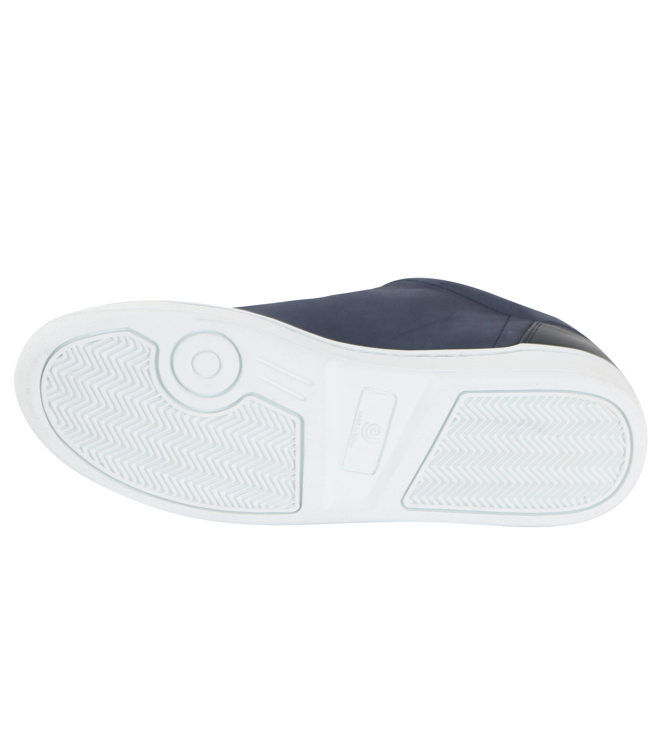 Suitable Sneaker Donkerblauw Nubuck foto 3