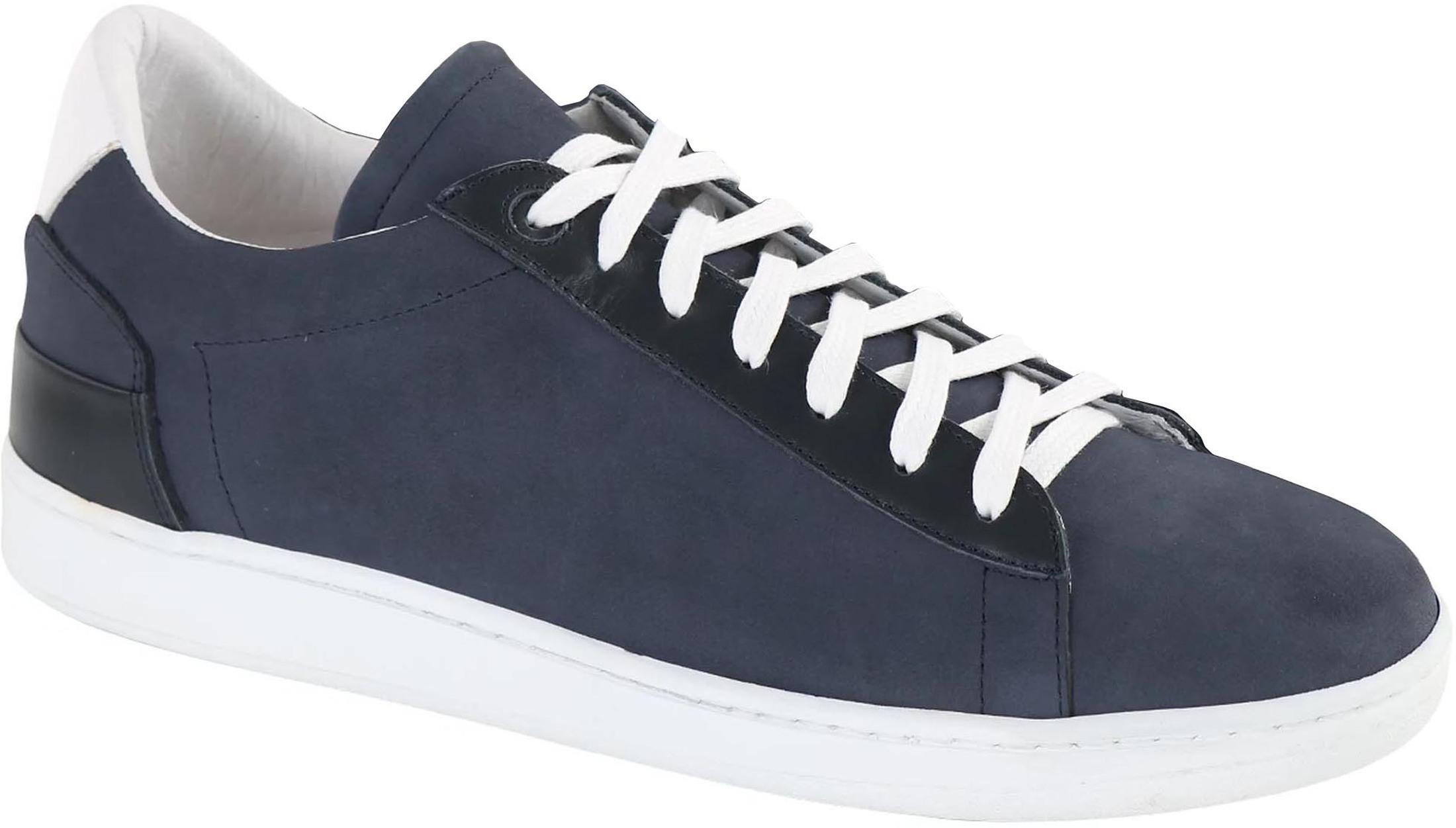Suitable Sneaker Donkerblauw Nubuck foto 0