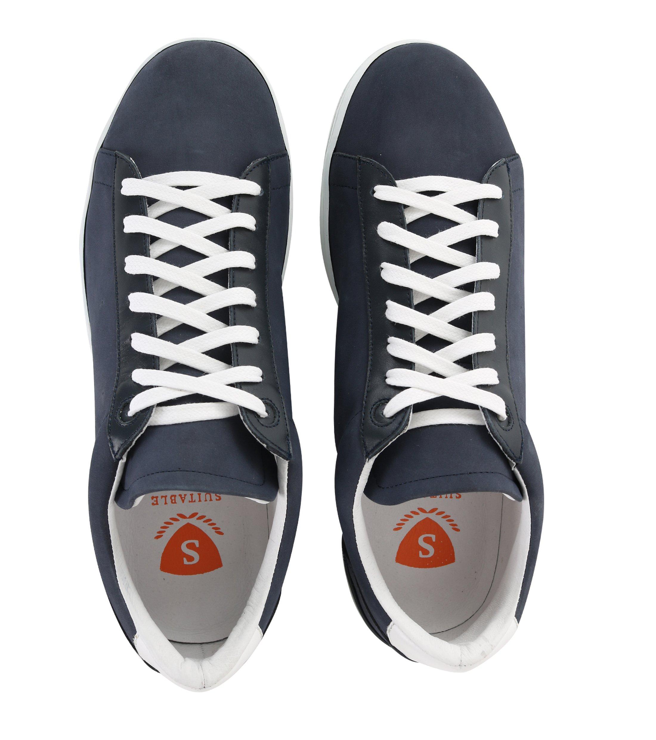 Suitable Sneaker Dunkelblau Nubuk foto 2