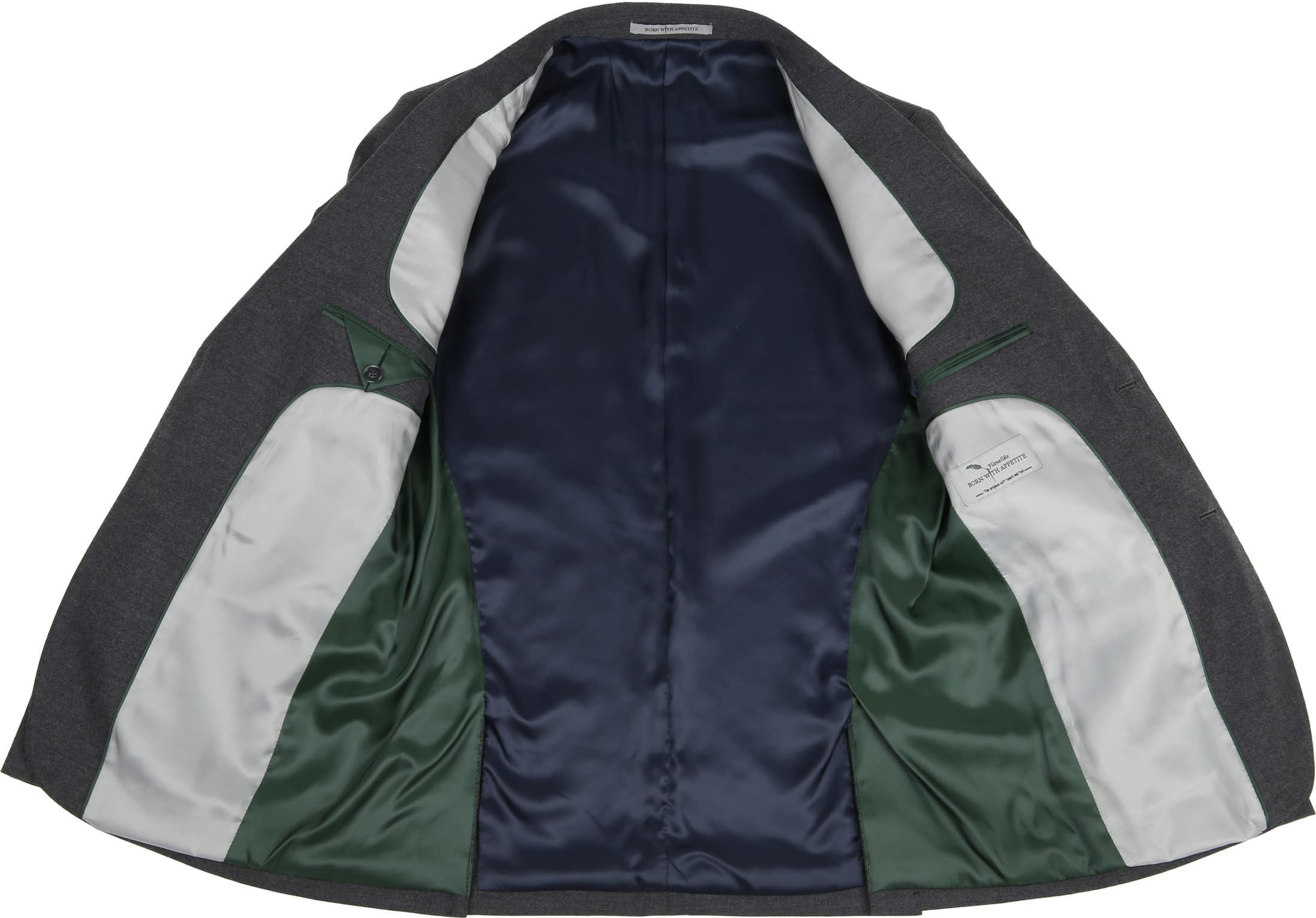 Suitable Sneaker Suit Flannel Grijs 3D foto 4