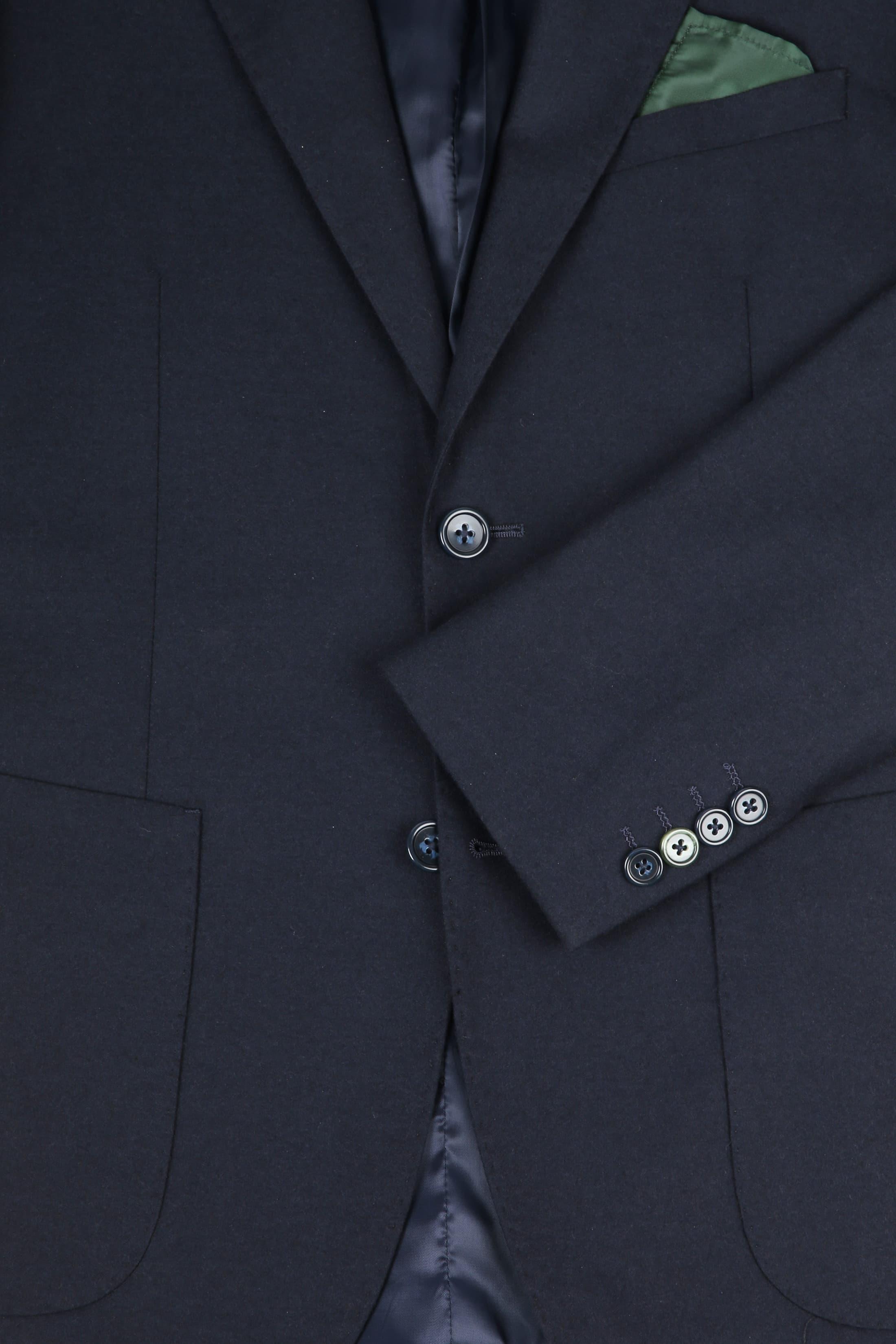 Suitable Sneaker Suit Flannel Navy 3D foto 1